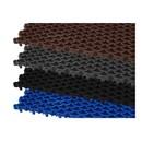 Покрытие сборное мелкоячеистое Сити Барьер 20 мм, 400х100, 25 шт/м2, черный
