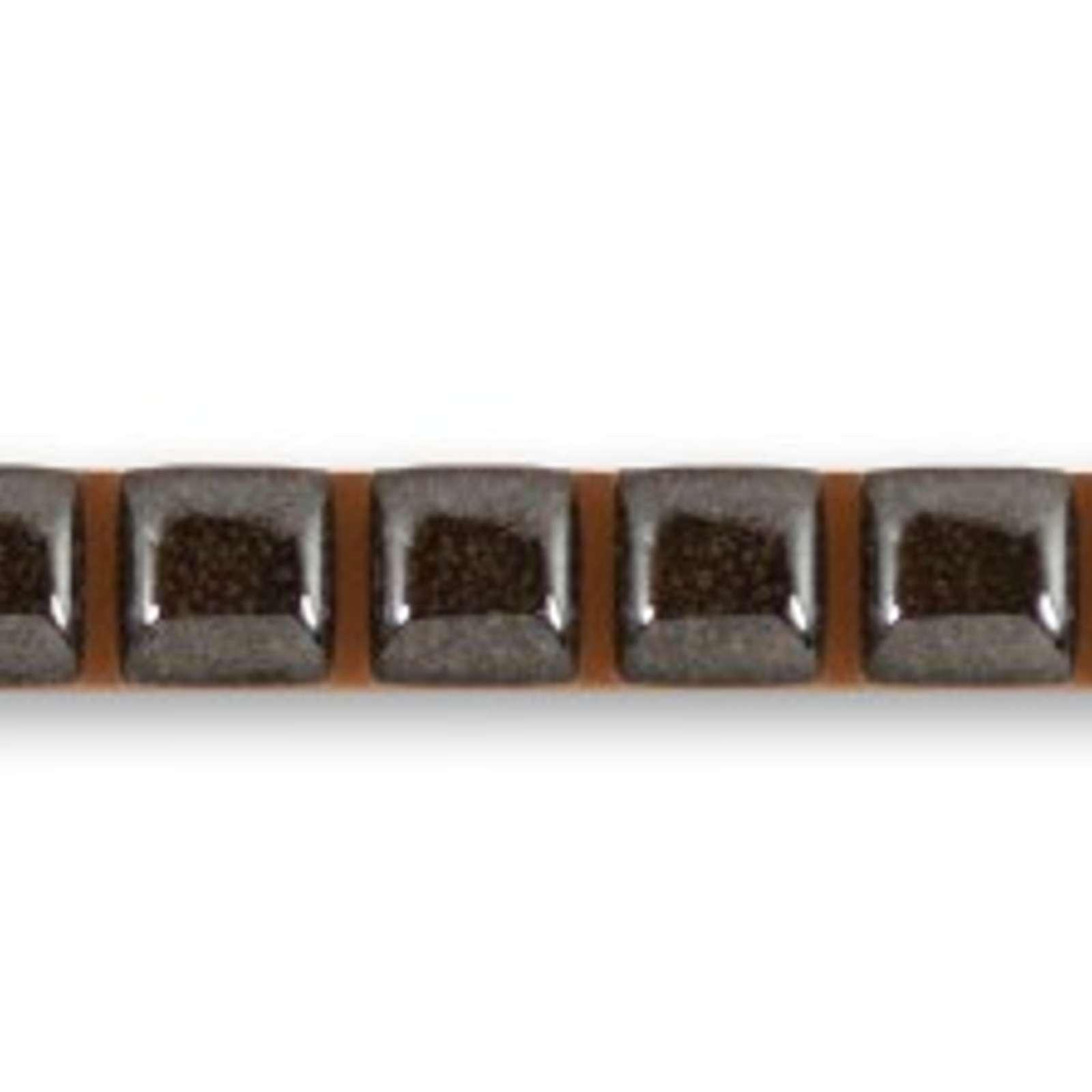 Бордюр 0,7х25х1мм Capsule Platinum, Unitile