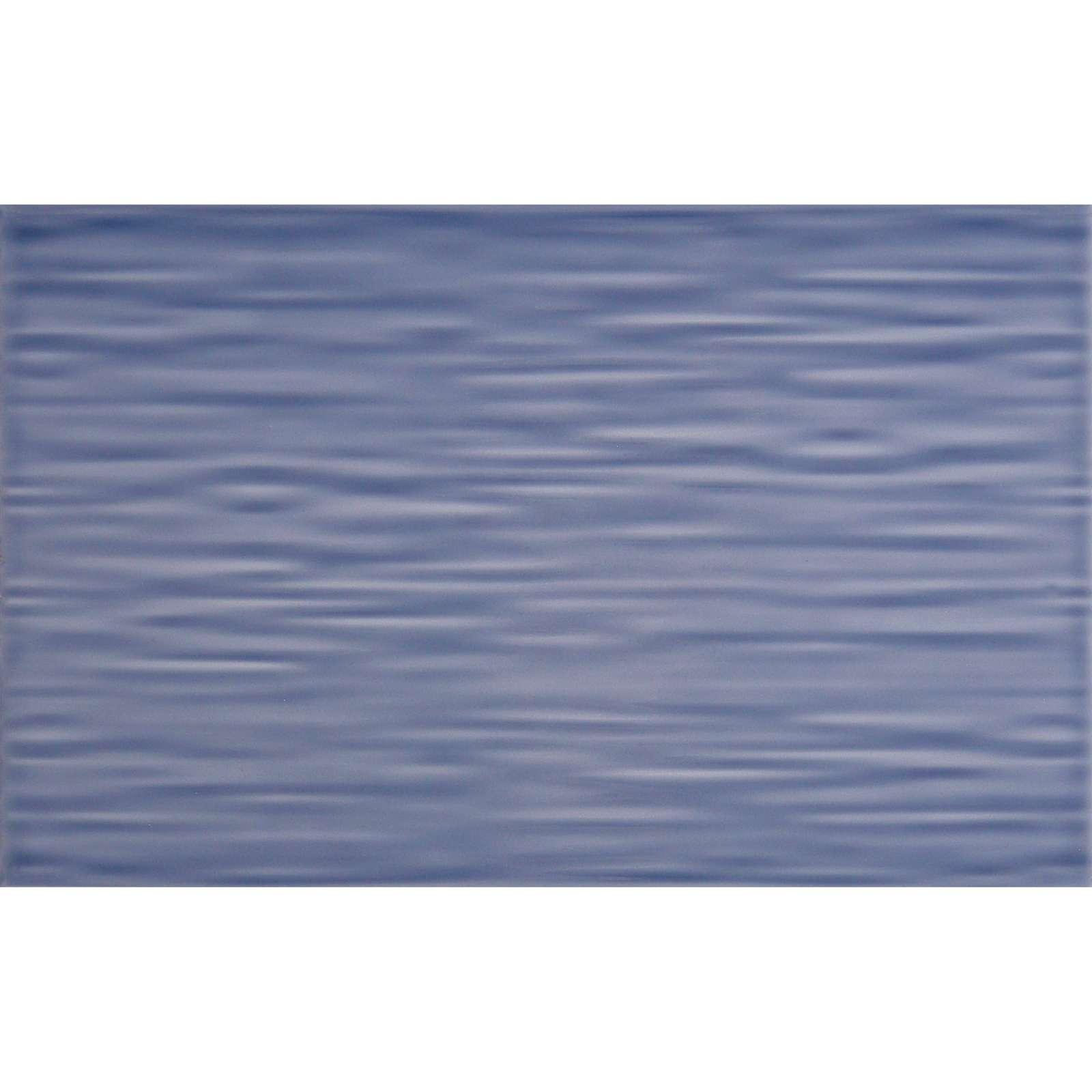 Плитка обл. 250х400мм Бридж синий низ 02, Шахты