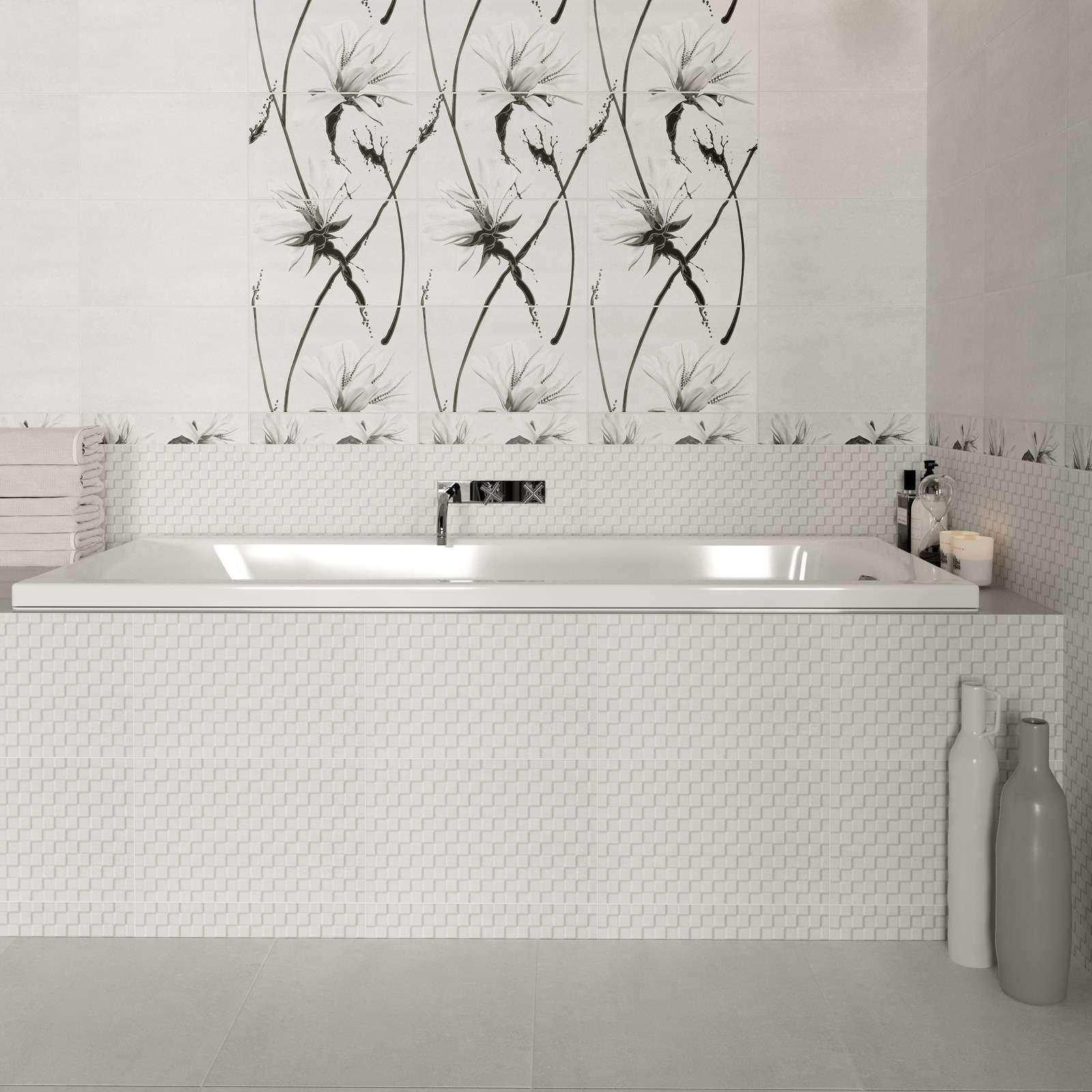 Плитка обл. 250х400мм Картье серый низ 02, Шахты