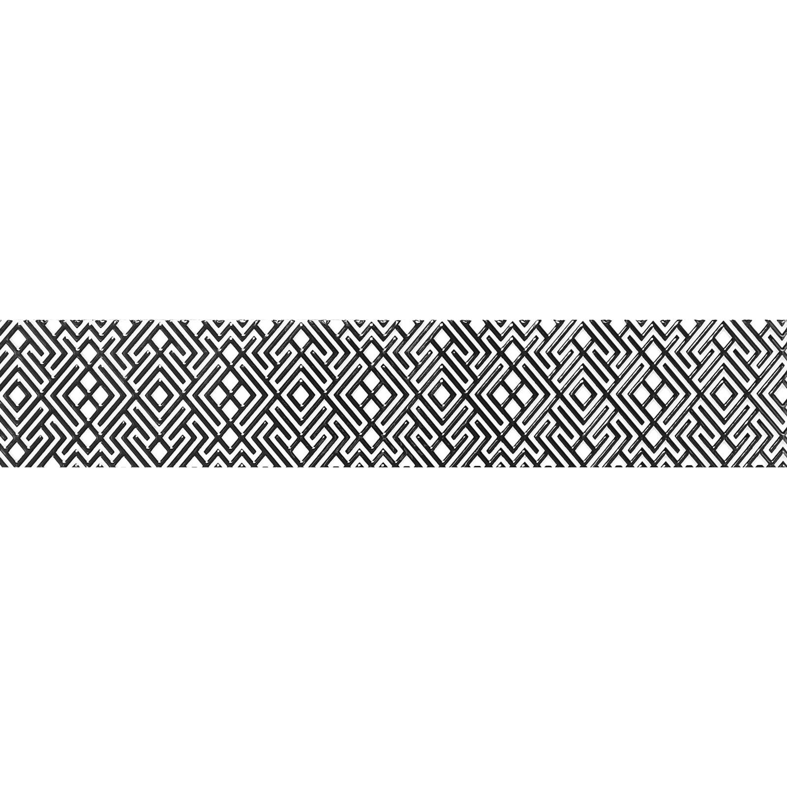 Бордюр 400х75мм Камелия черный 01, Шахты