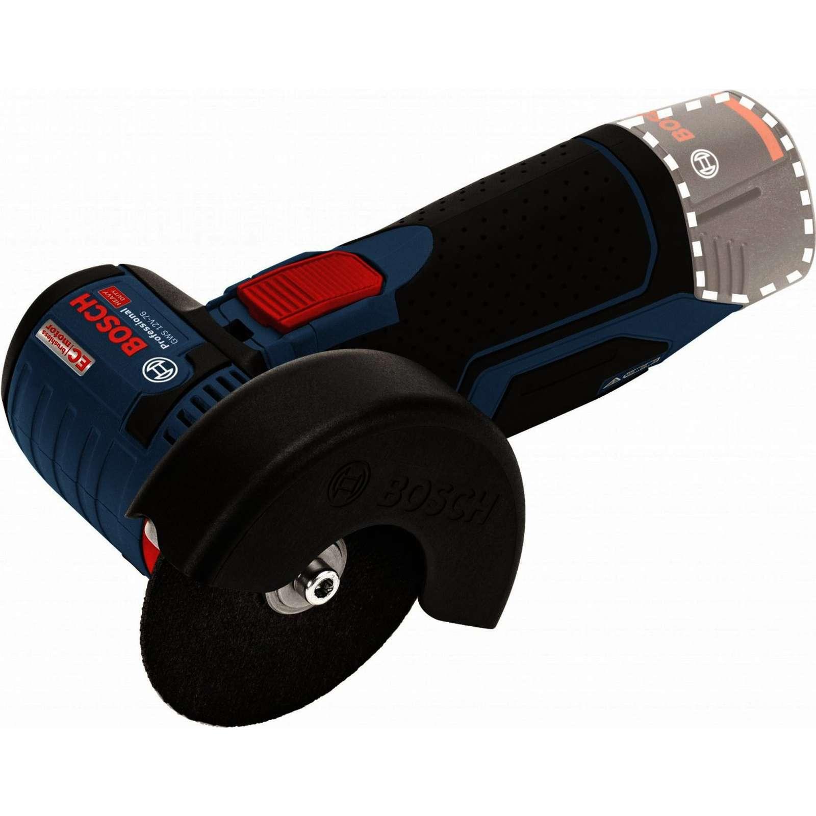 Шлифмашина угловая аккумуляторная BOSCH GWS 12V-7