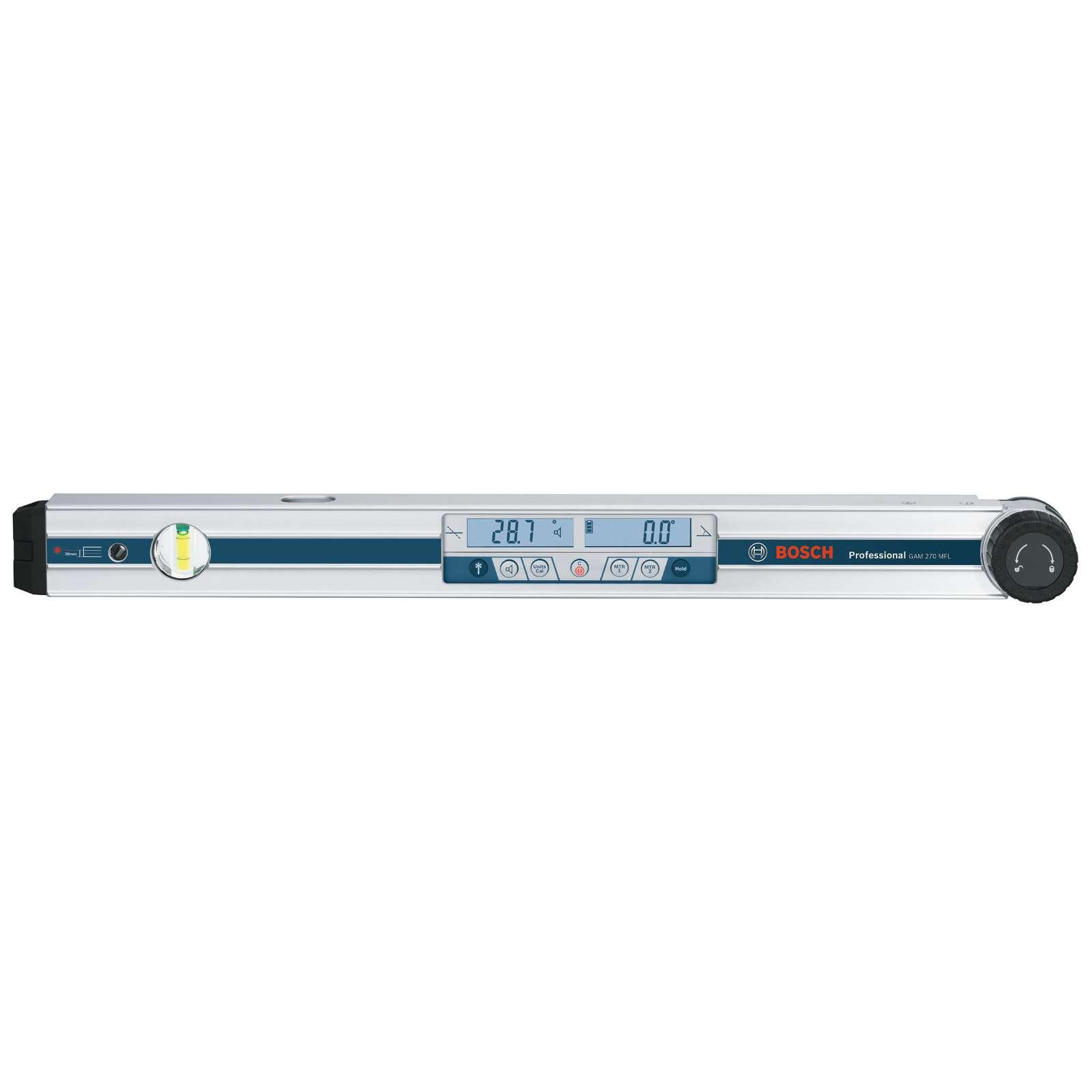 Угломер цифровой Bosch GAM 270 MFL, 60 см