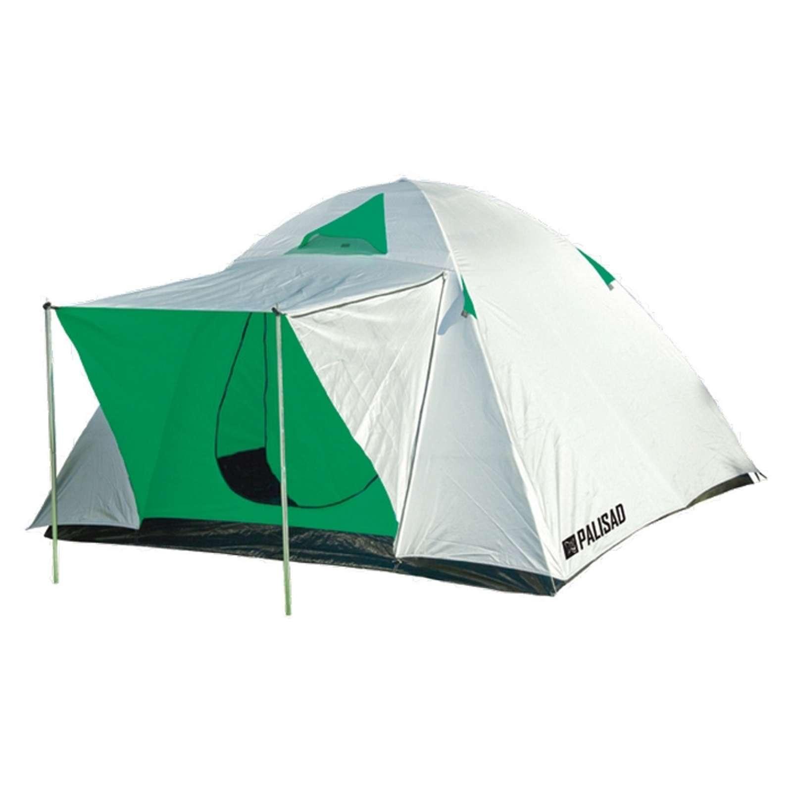 Палатка двухслойная трехместная 210x210x130cm//PALISAD Camping