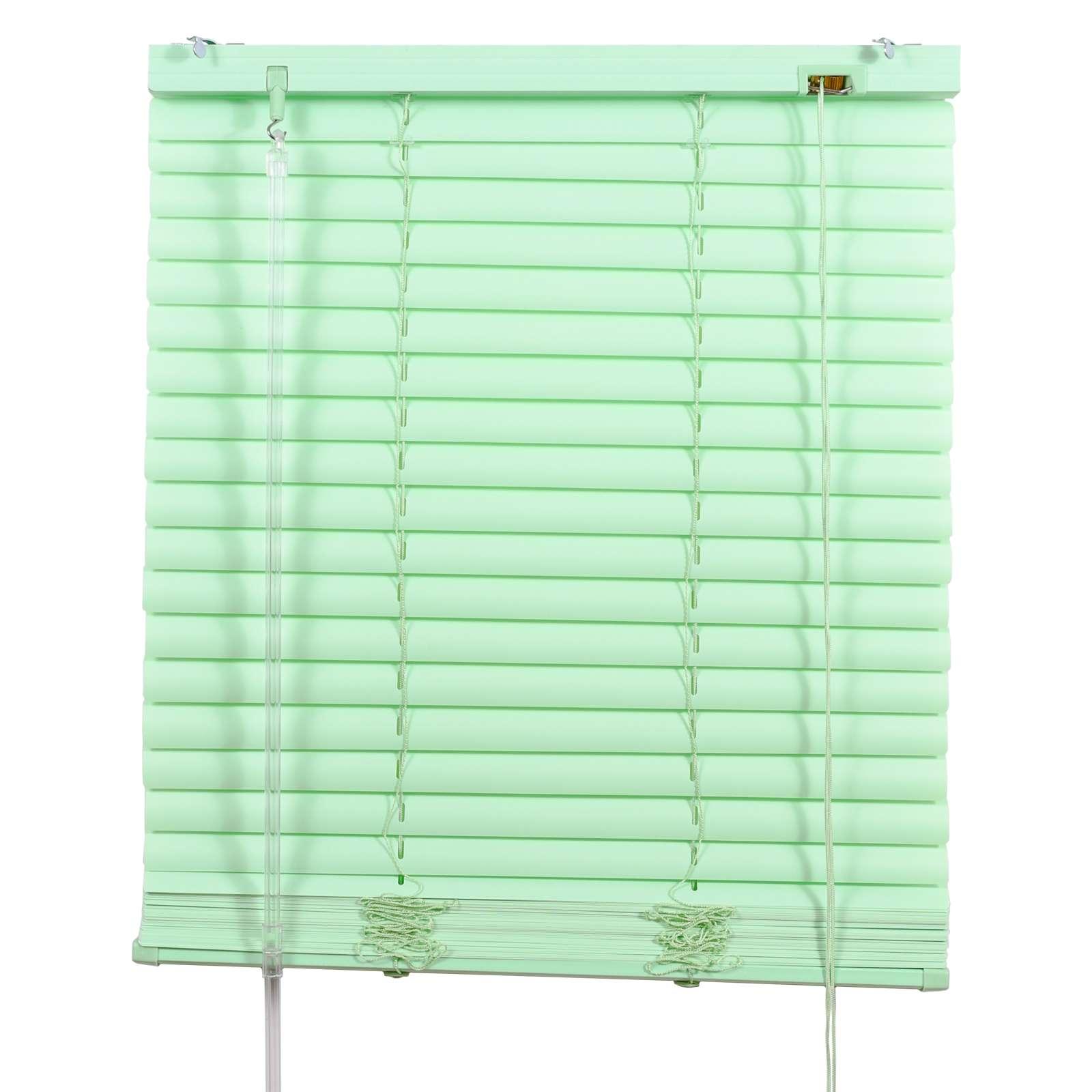 Жалюзи ПВХ 110х160см, зеленый
