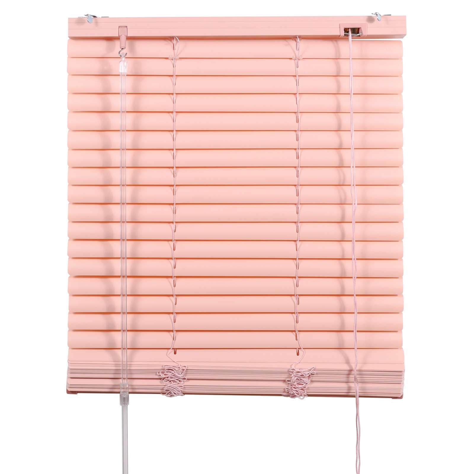 Жалюзи ПВХ 140х160см, розовый