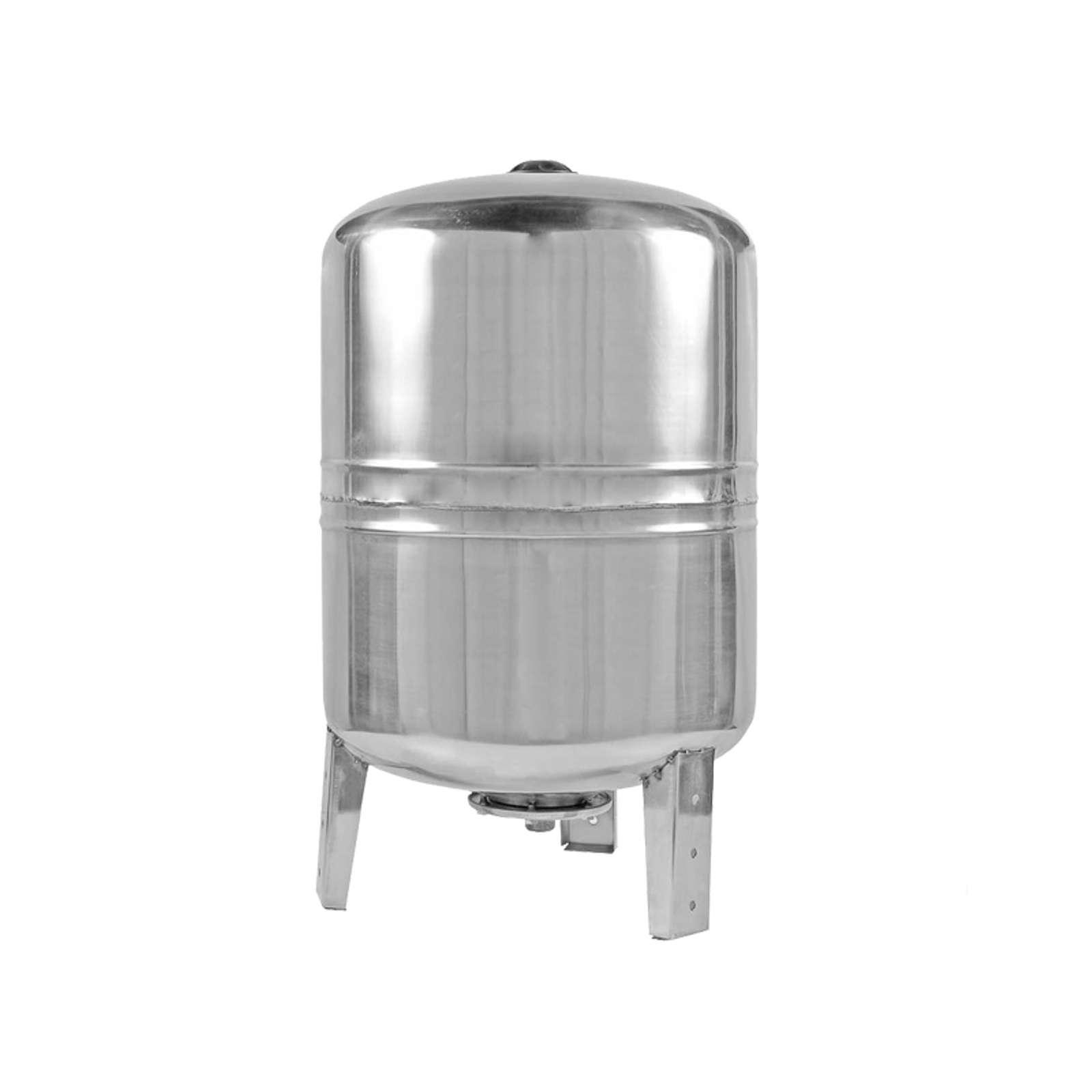 Гидроаккумулятор Unipump 100 л из нержавеющей стали вертикальный