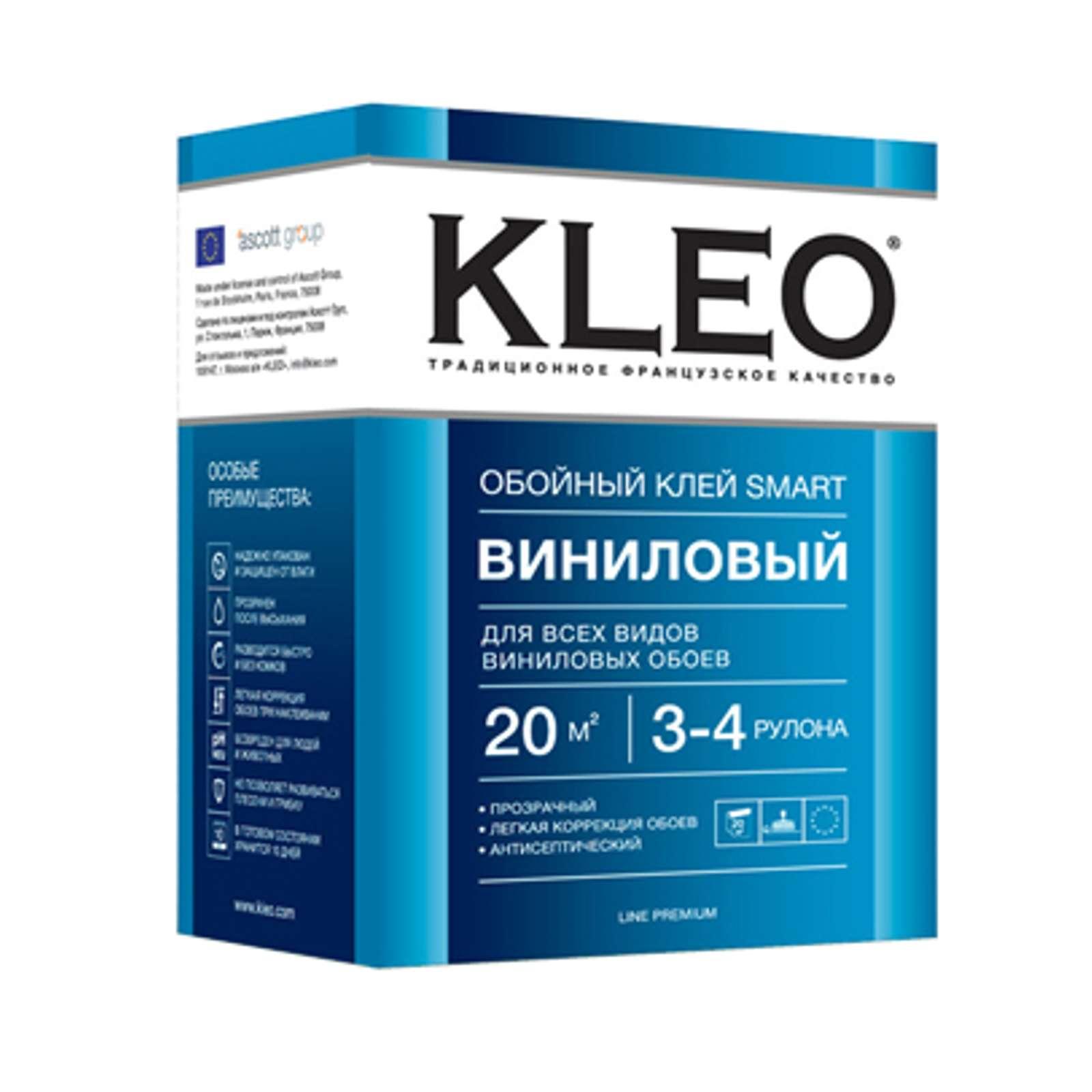 KLEO SMART 3-4, Клей для виниловых обоев