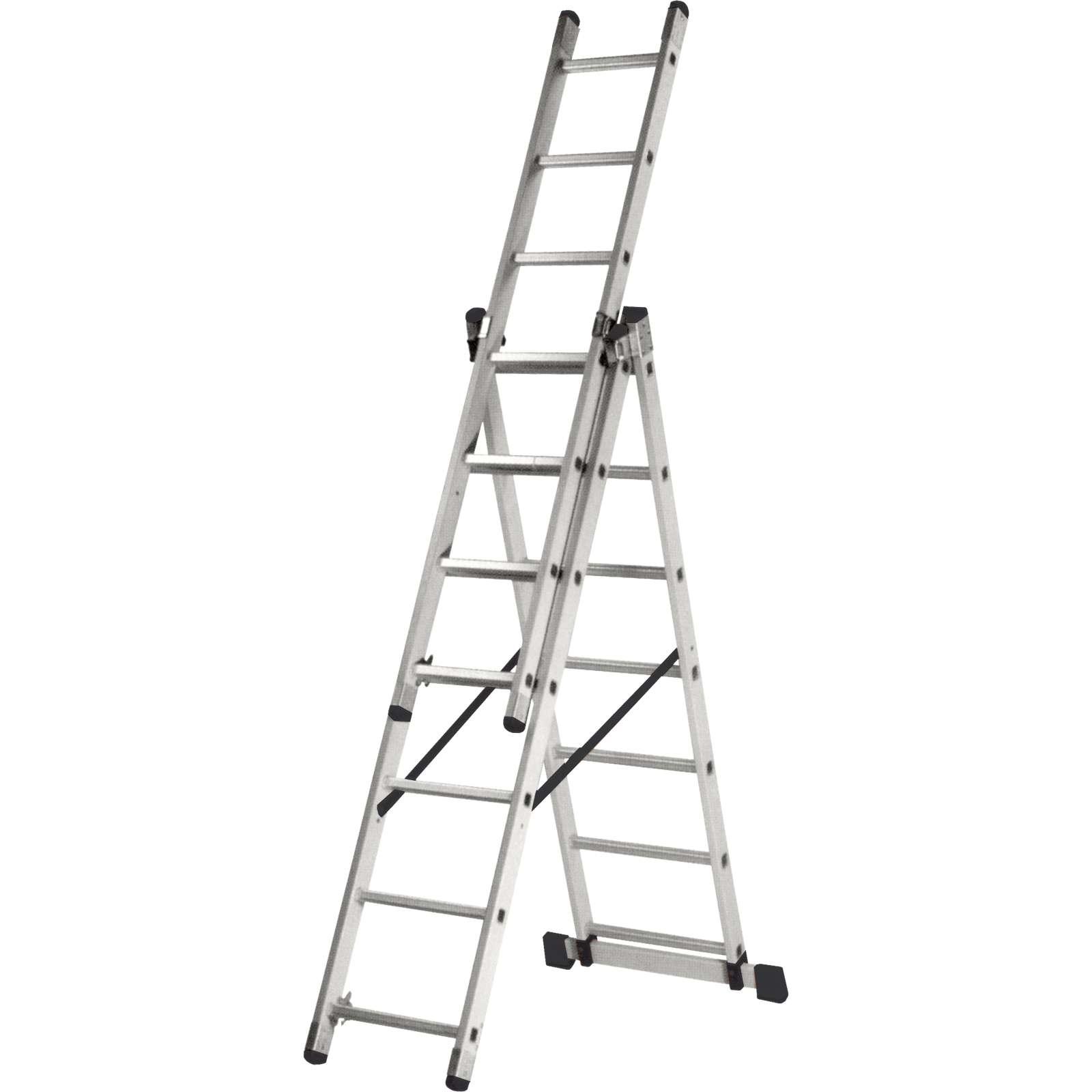 Трехсекционная лестница Кратон, 786 см