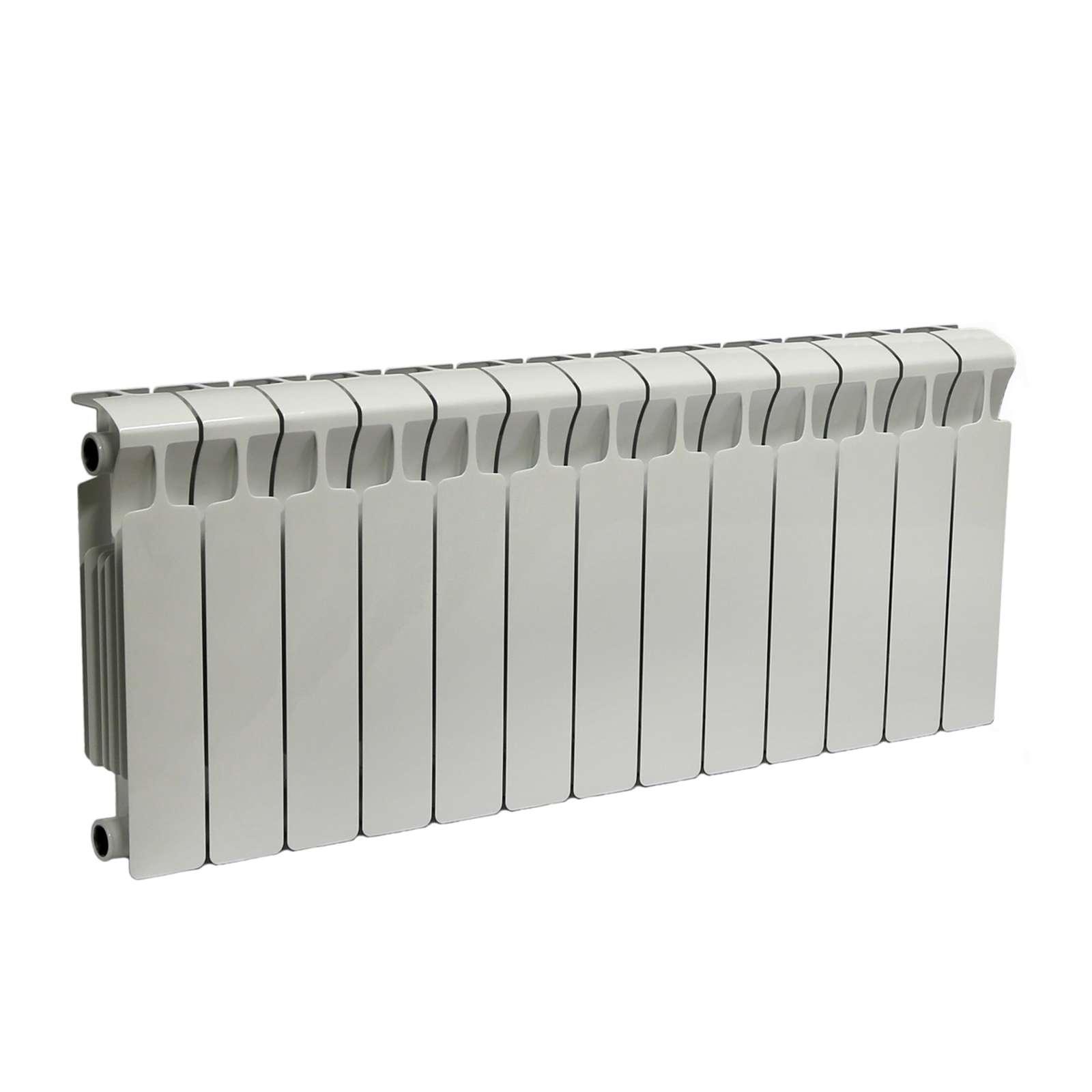 Радиатор биметаллический RIFAR Monolit 350 13 секций НП лев (MVL)