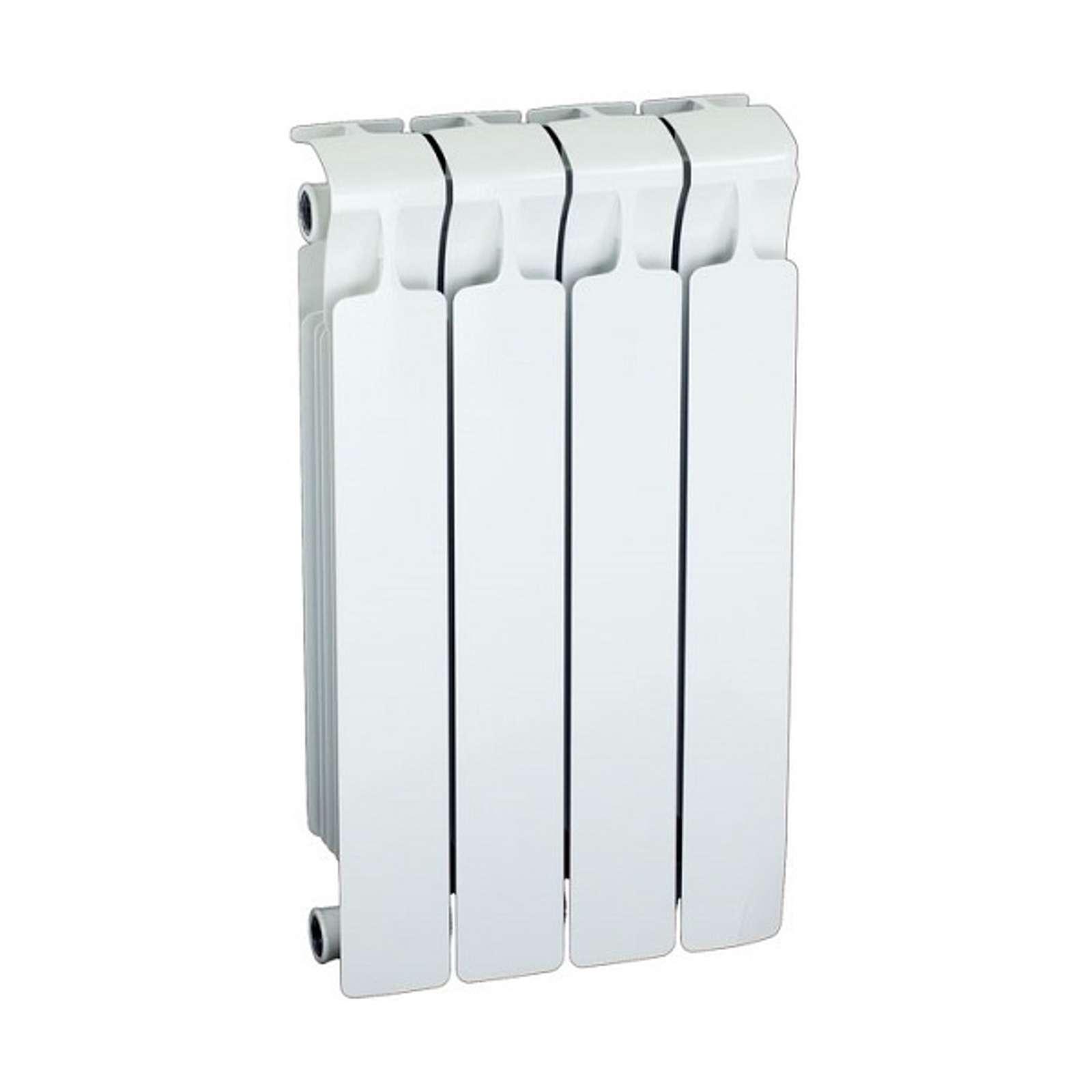 Радиатор биметаллический RIFAR Monolit 500 4 секции НП лев (MVL)