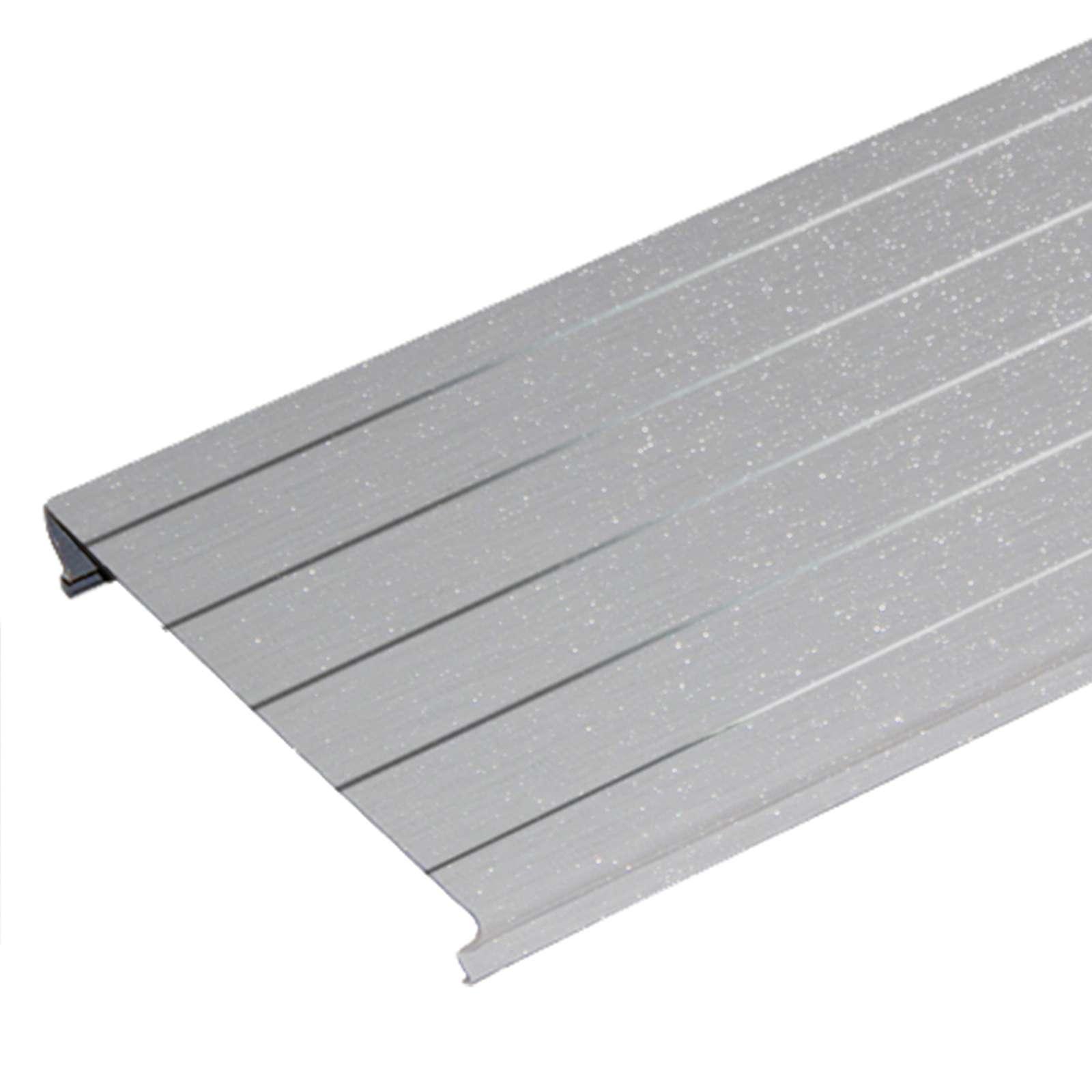 Комлект потолочный 1,7х1,7м A150AS серебристый металлик с мет. полосой HL0206