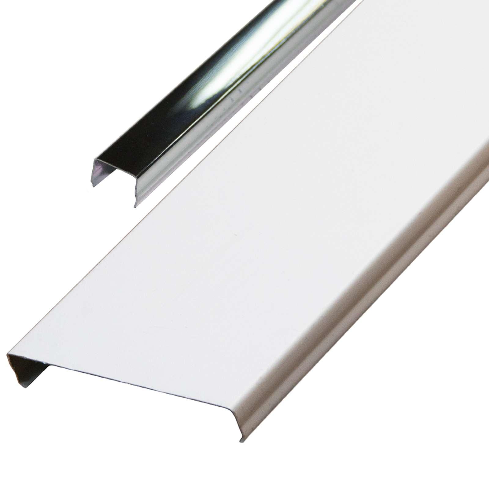 Комплект потолочный 1,35х0,9м эк AN85A белый RUS с раскладкой супер-хром люкс