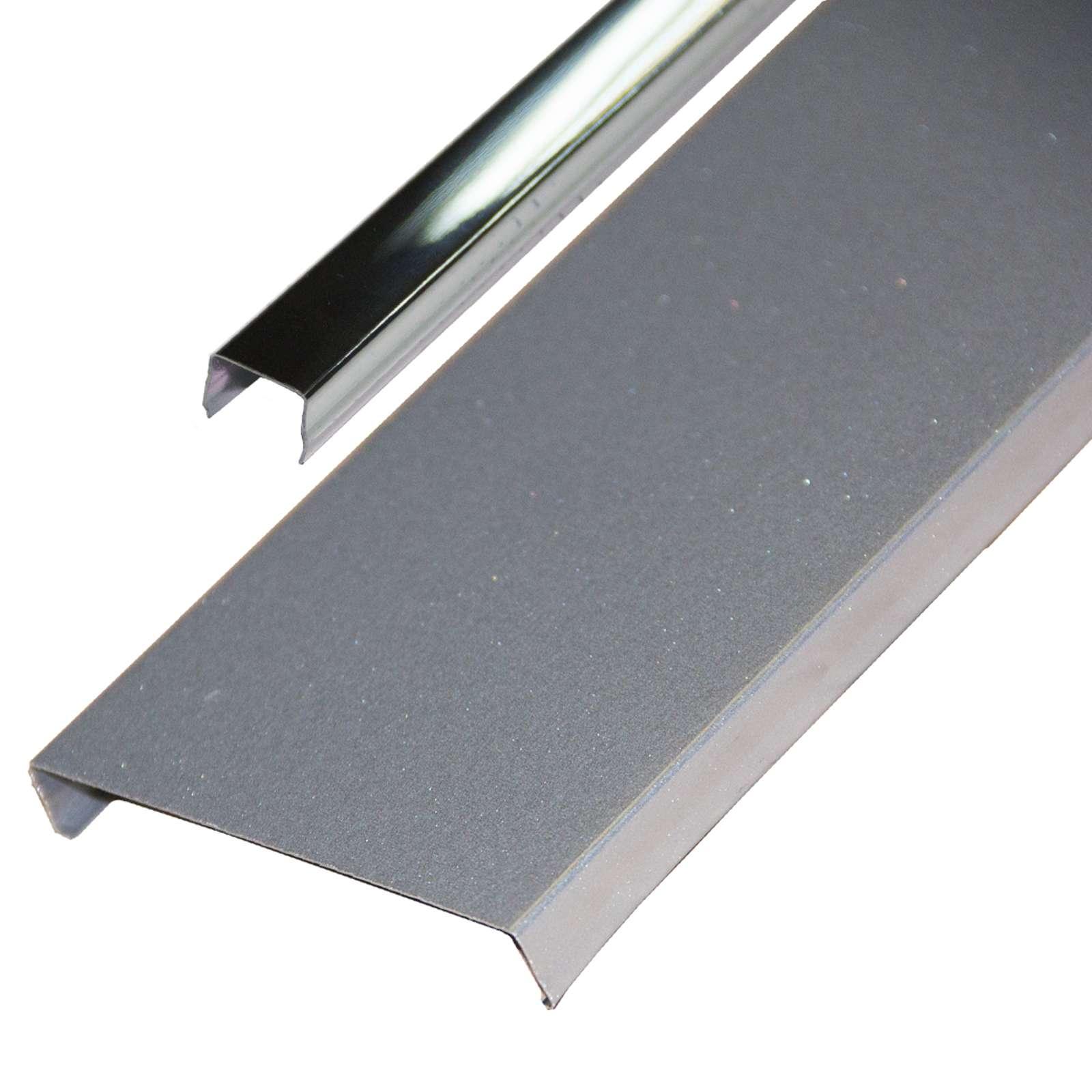 Комплект потолочный 1,35х0,9м эк AN85A металлик RUS с раскладкой супер-хром люкс
