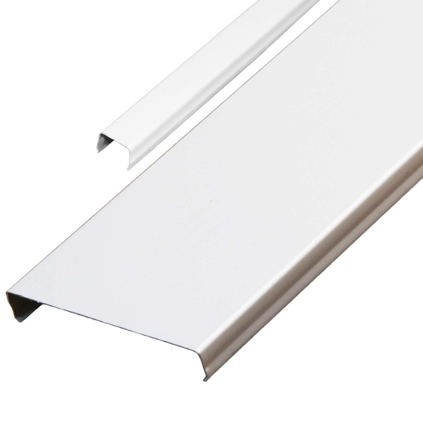 Комплект потолочный 1,7х1,7м эк AN85A белый RUS с раскладкой белый матовый RUS