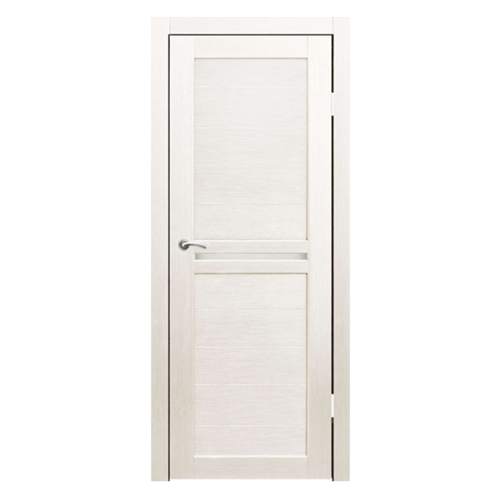 Дверное полотно Синержи Лацио, Дуб молочный, ПДГ 900Х2000ММ