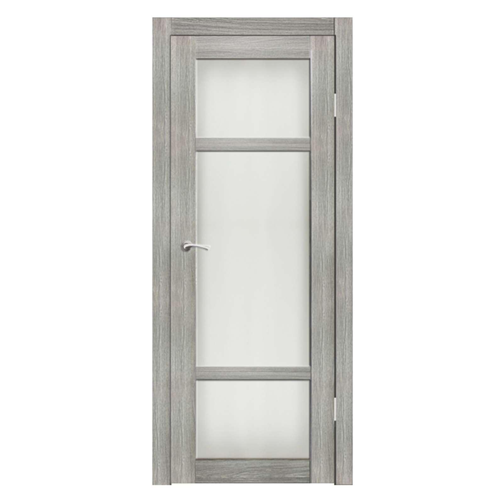 Полотно дверное остекленное Кьянти СИНЕРЖИ ель ПВХ, ПДО 800х2000мм