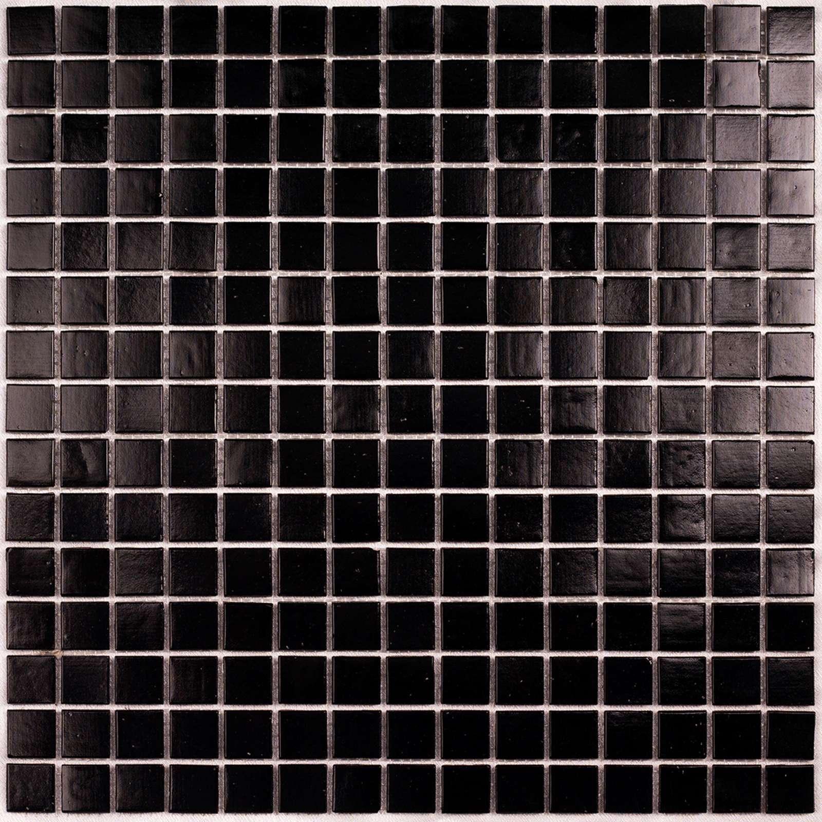 Мозаика стеклянная Simple Black, 327х327 мм