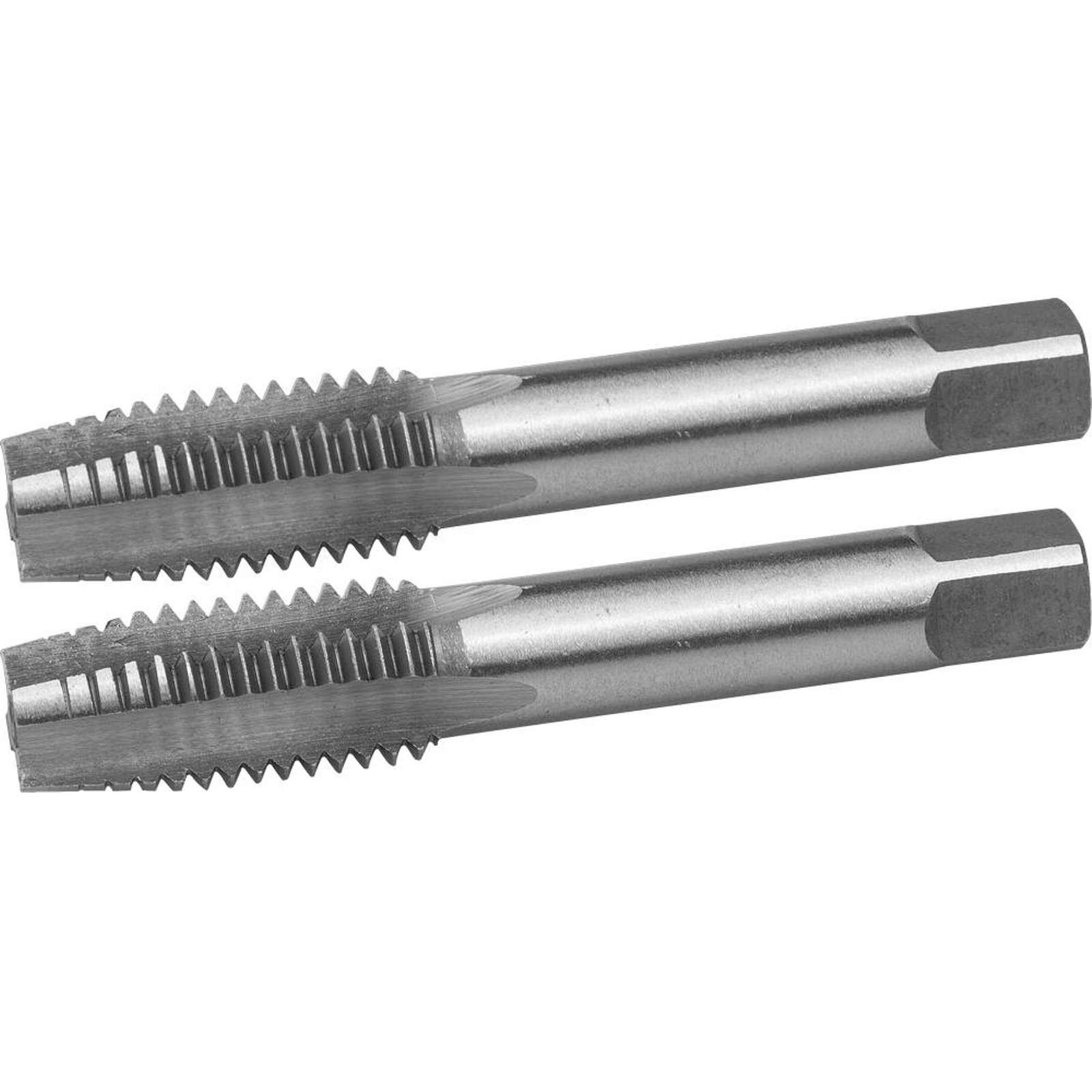 Комплект метчиков ручных Зубр Мастер, М14×2,0 мм, 2 шт