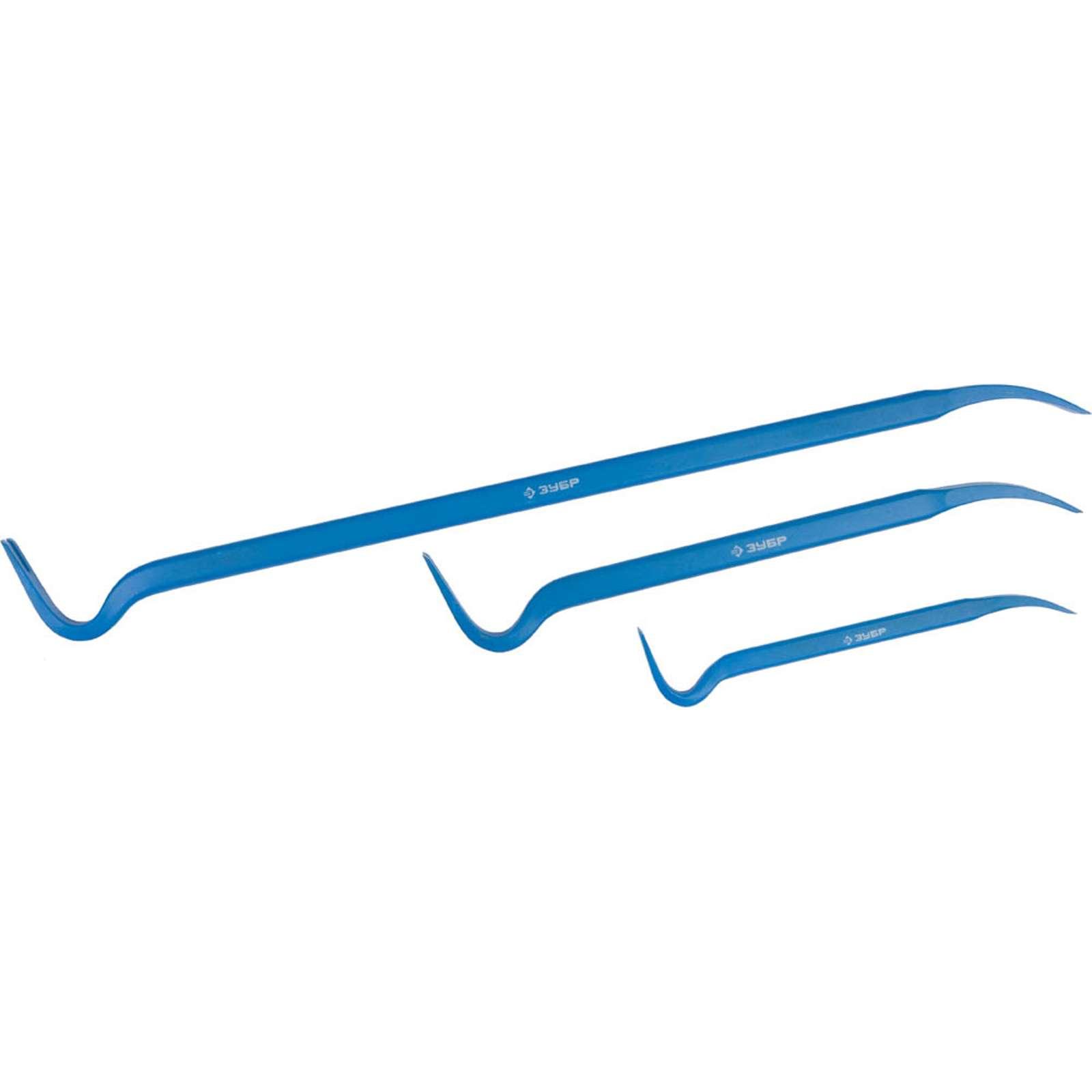 Набор ломов-гвоздодеров Зубр Эксперт, 22×12 мм, 30×15 мм