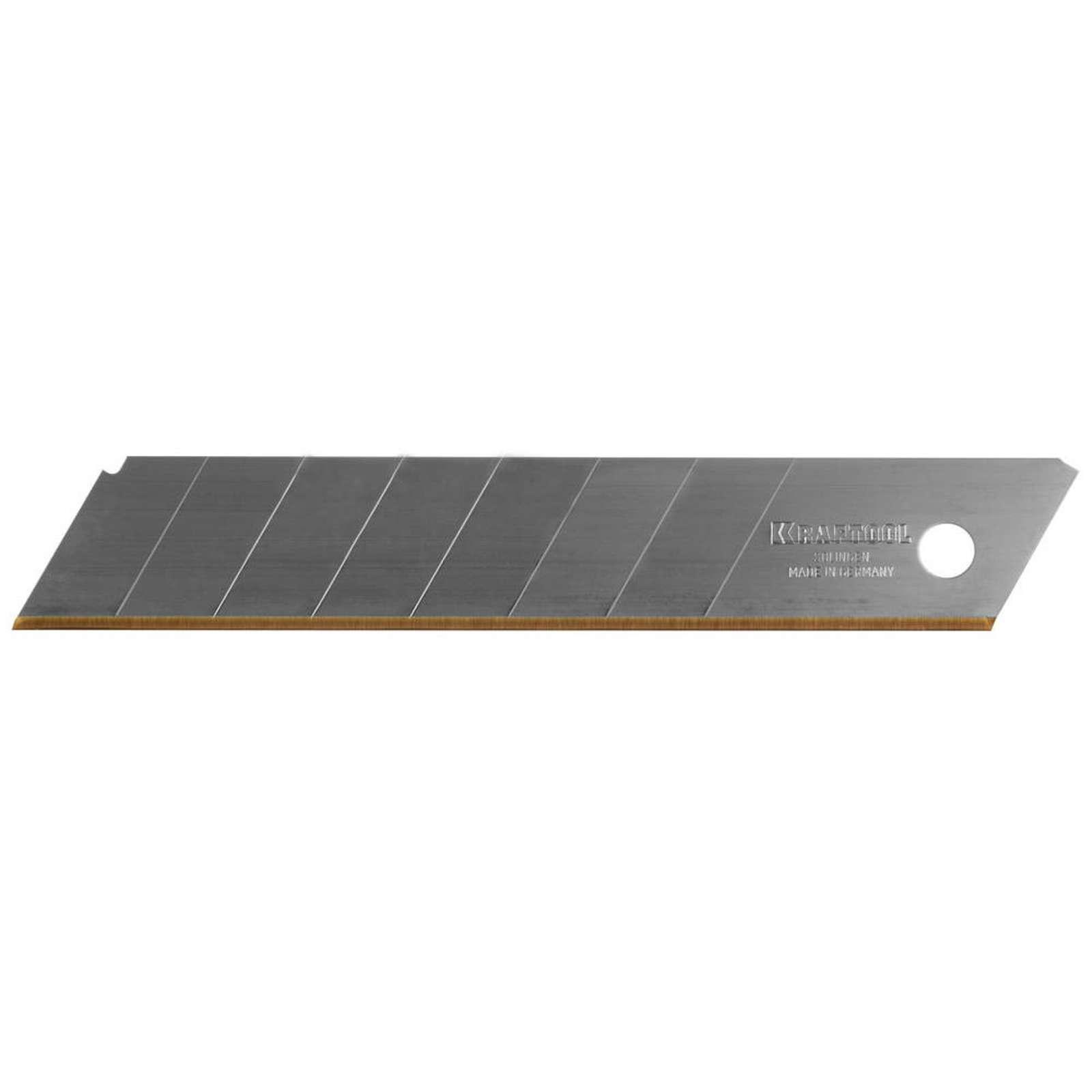Лезвие Kraftool Pro Solingen, 8 сегментов, 18 мм, 5 шт