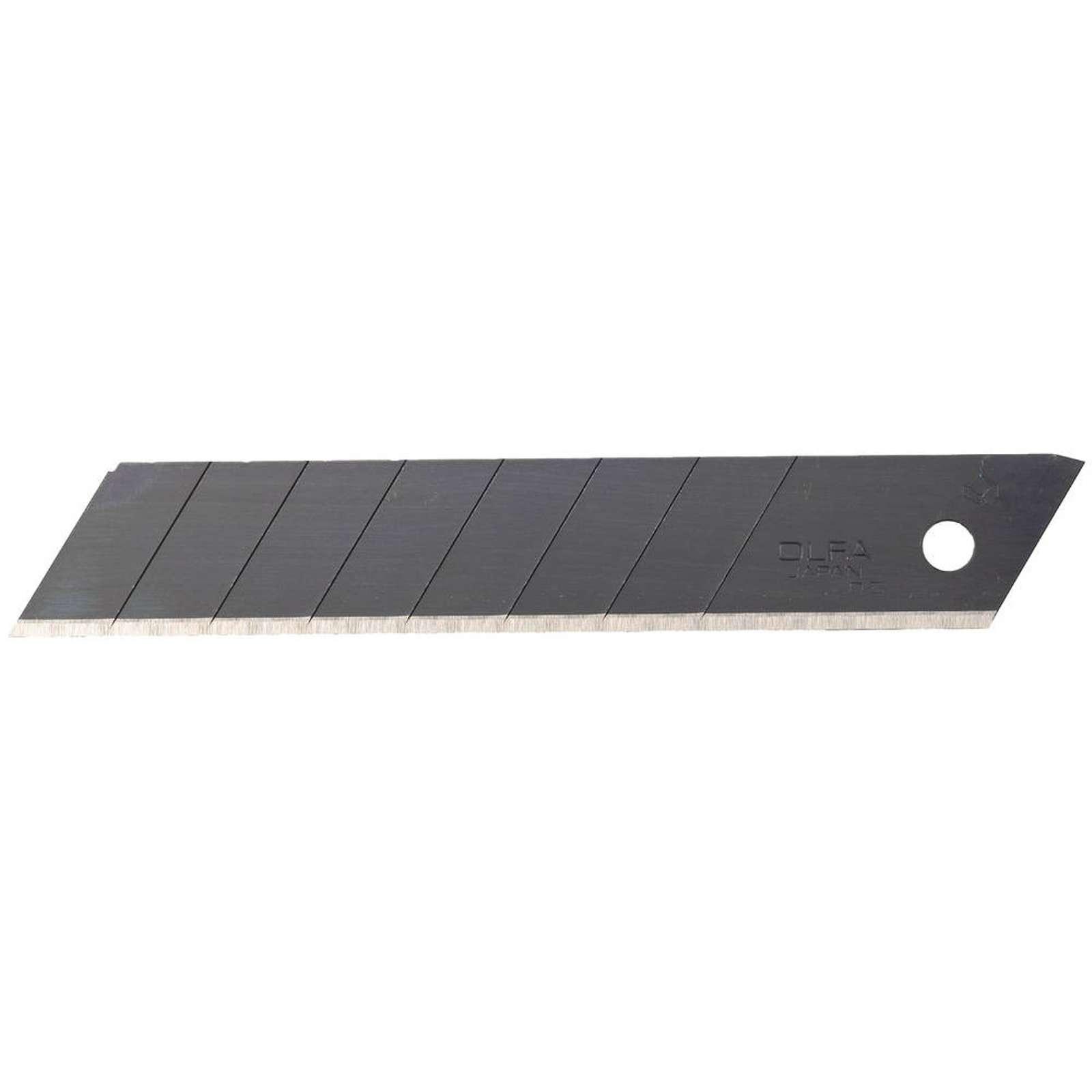 Лезвие сегментированное Olfa Black Max, 8 сегментов, 18×100×0,5 мм, 50 шт