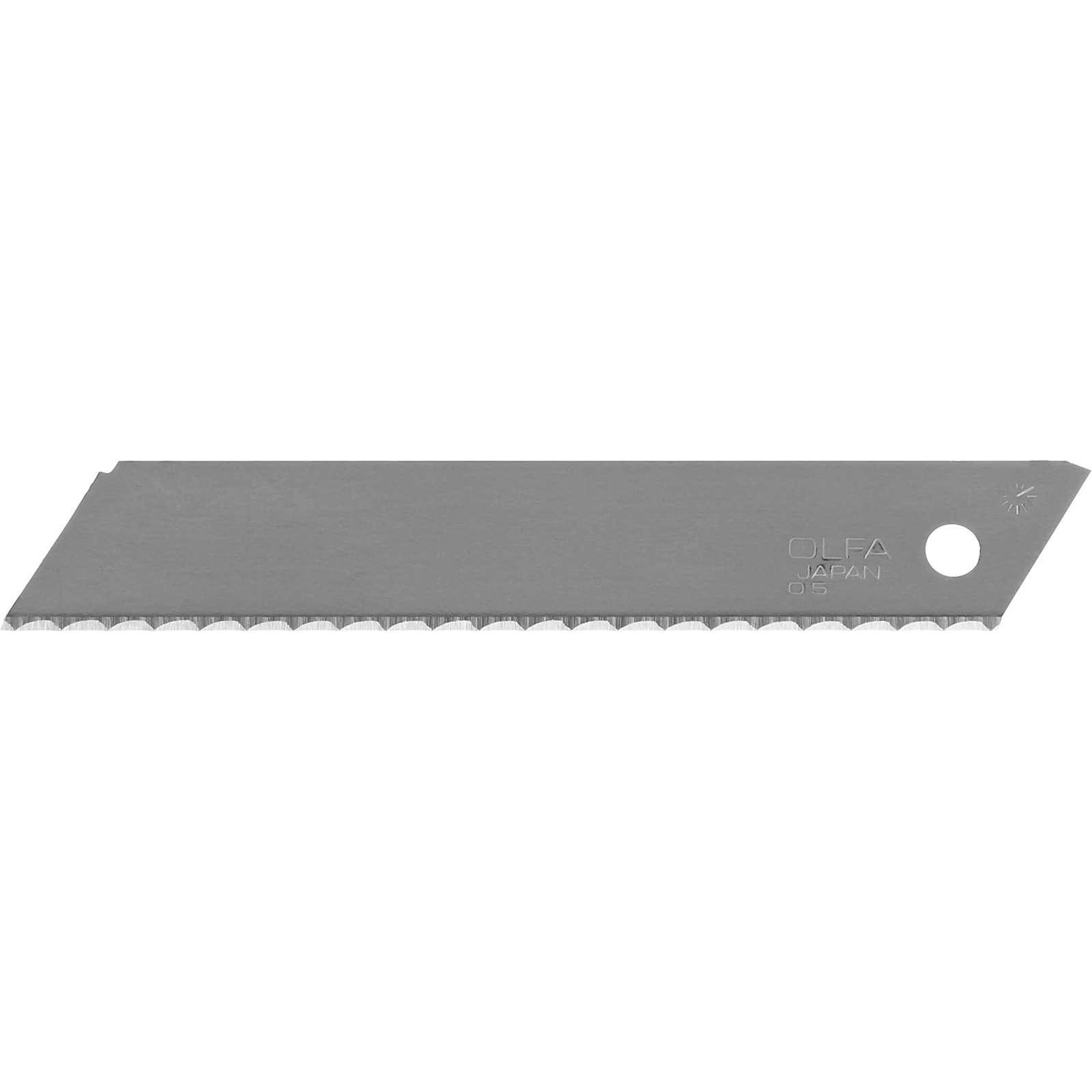 Лезвие сегментированное Olfa, серрейторная заточка, 18 мм