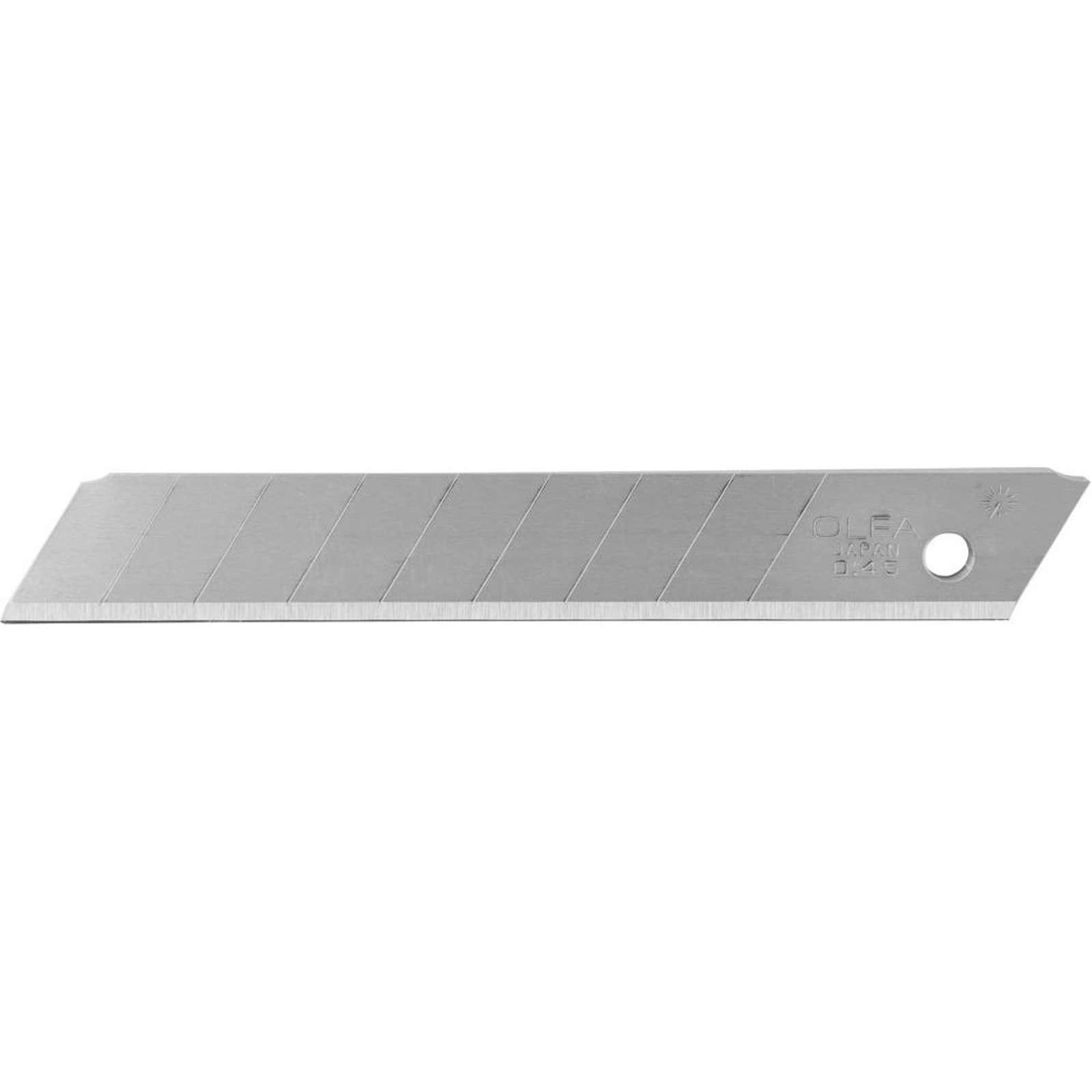 Лезвия сегментированные Olfa, 9×80×0,38 мм, 13 сегментов, 50 шт