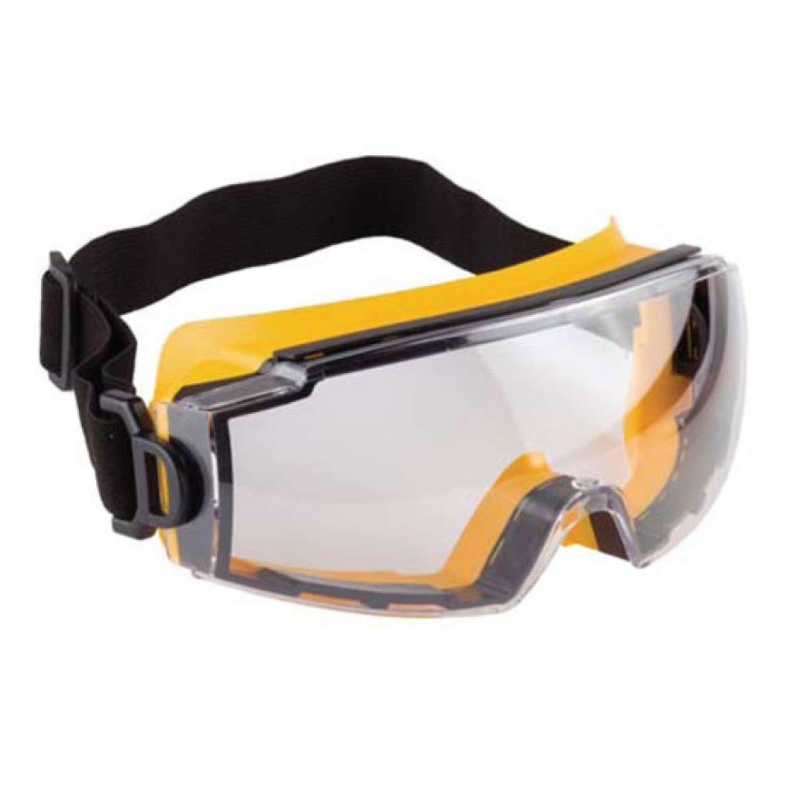 """Очки STAYER """"PROFI"""" защитные с непрямой вентиляцией со сферической линзой, линза поликарбонатная, двухкомпонентная оправа"""
