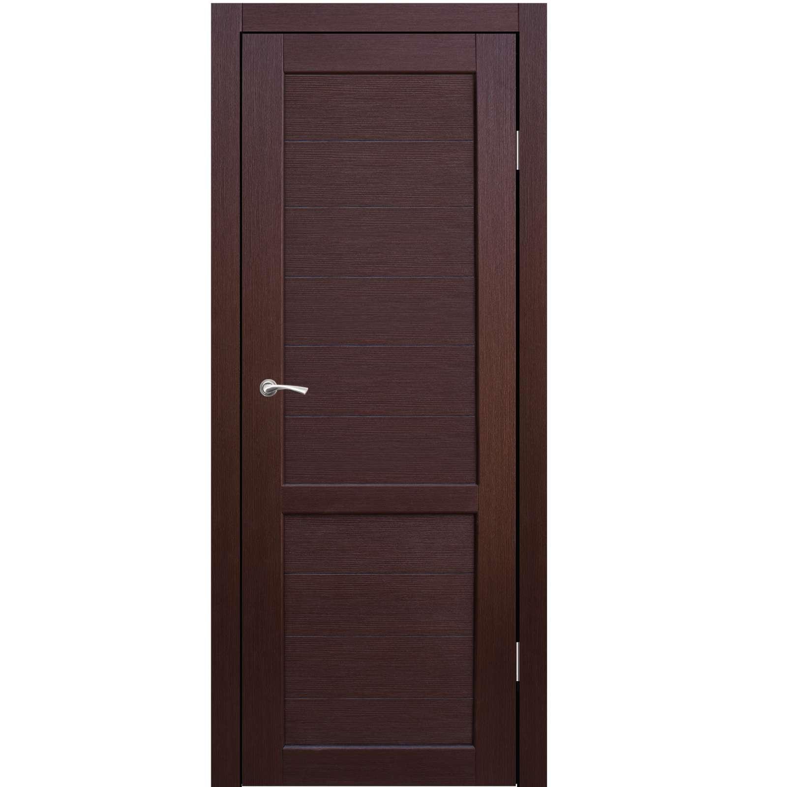 Полотно дверное глухое Венеция СИНЕРЖИ ноче кремоне ПВХ, ПДГ 900х2200мм НЕСТАНДАРТ