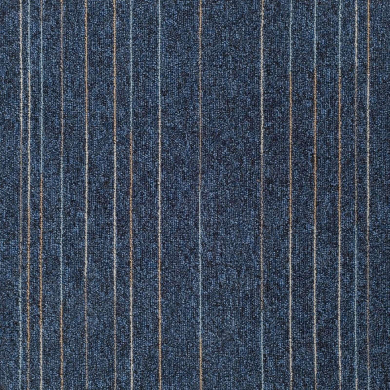 Плитка ковровая Sintelon коллекция Sky Flash 448-84, синий, 6,3 мм, 33 кл, (20шт/5м2), 500x500 мм, 650649002