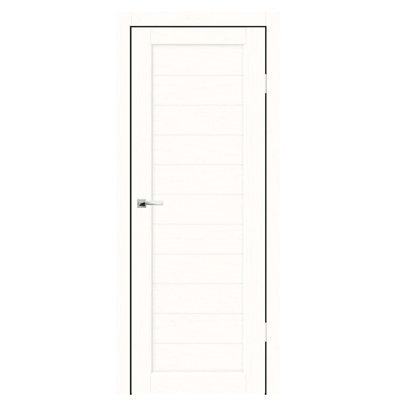 Дверное полотно Синержи Легро, Белый ясень, ПДГ 800Х2000ММ