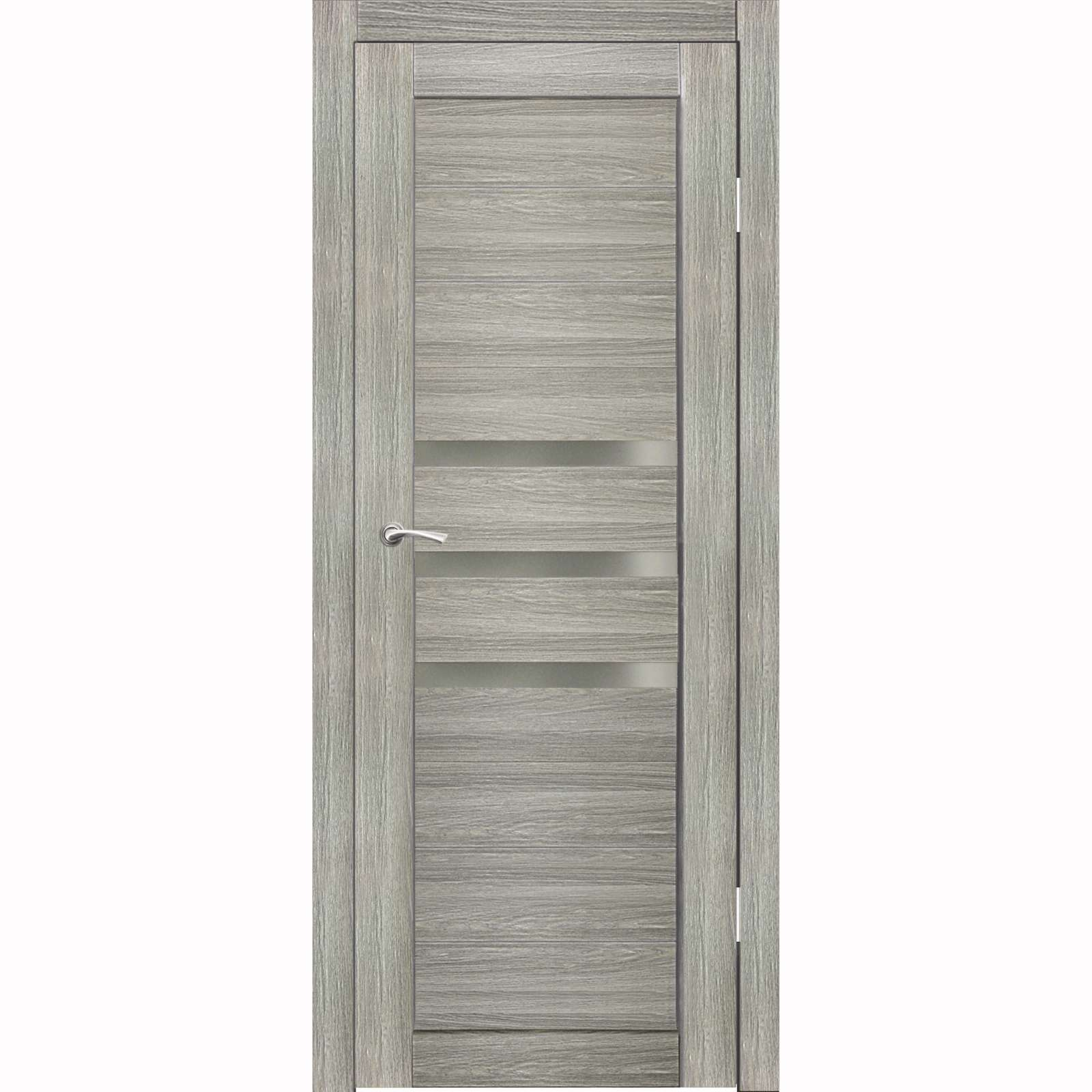 Полотно дверное остекленное Грация (стекло сатин бронза) СИНЕРЖИ ель ПВХ, ПДО 900х2000мм