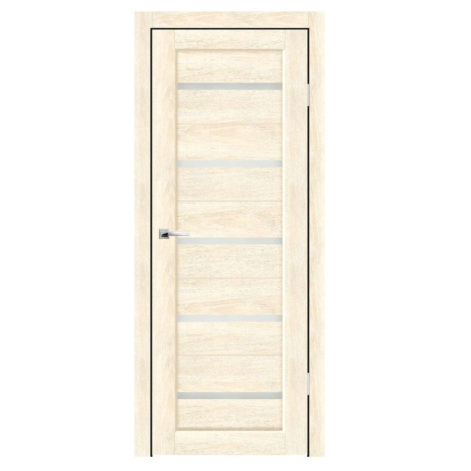 Дверное полотно Синержи Бьянка, Ваниль, ПДО 800Х2000ММ