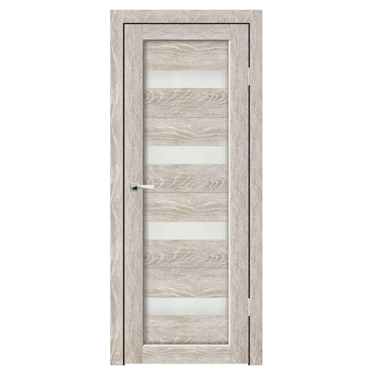 Дверное полотно Синержи Адажио, Грей, ПДО 900Х2000ММ