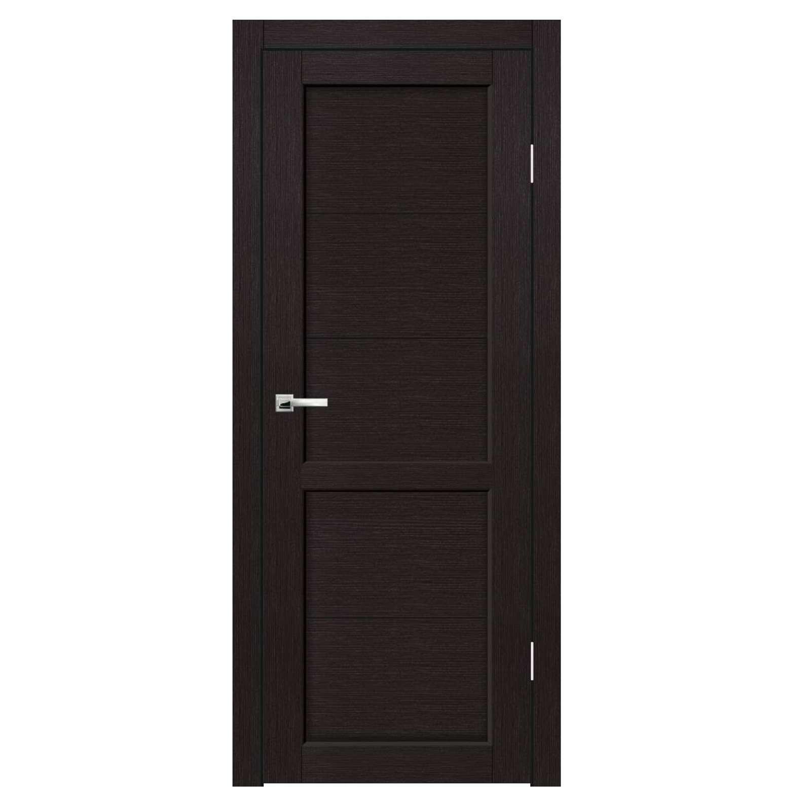 Дверное полотно Синержи Венеция, Венге, ПДГ 800Х2000ММ
