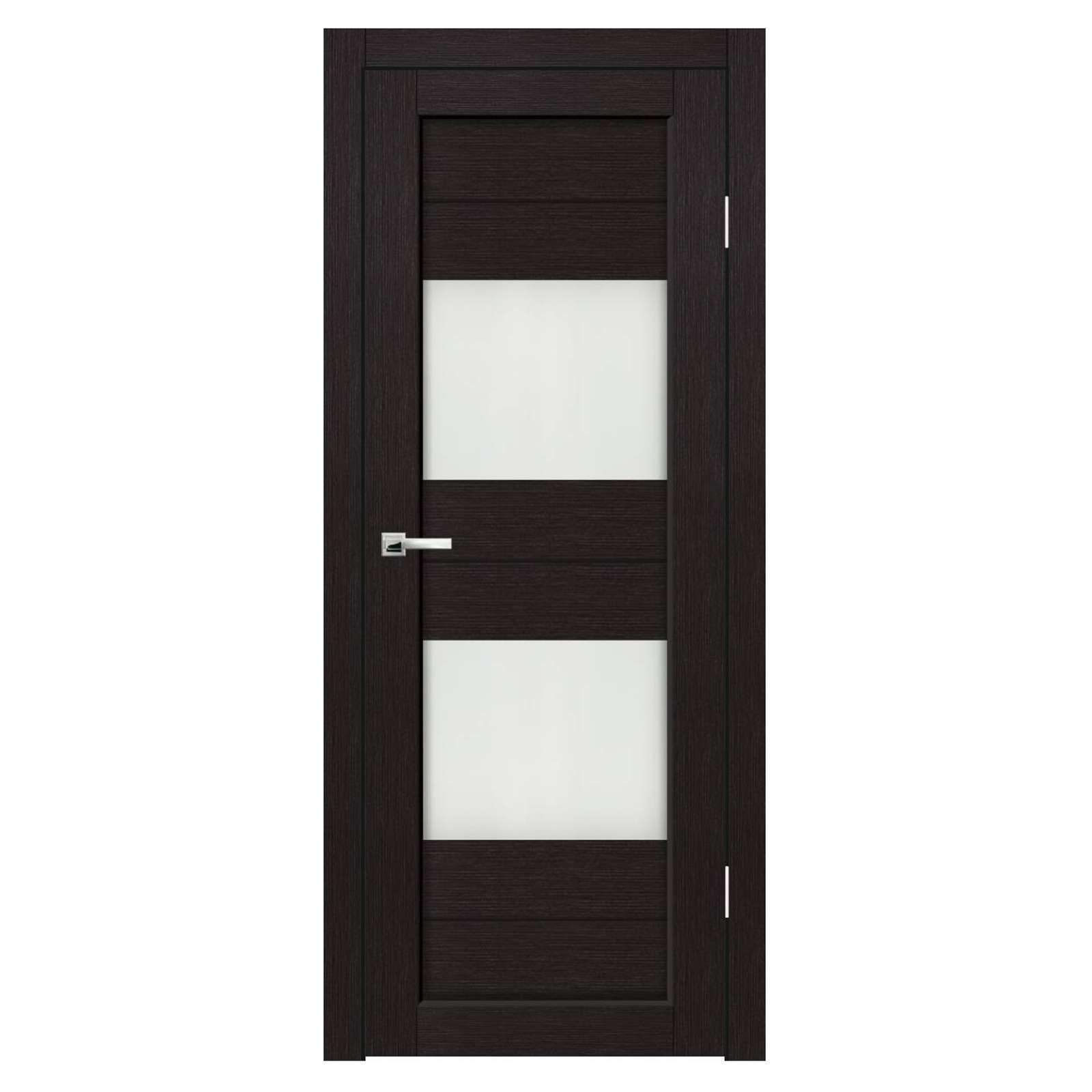 Дверное полотно Синержи Форте, Венге, ПДО 600Х2000ММ