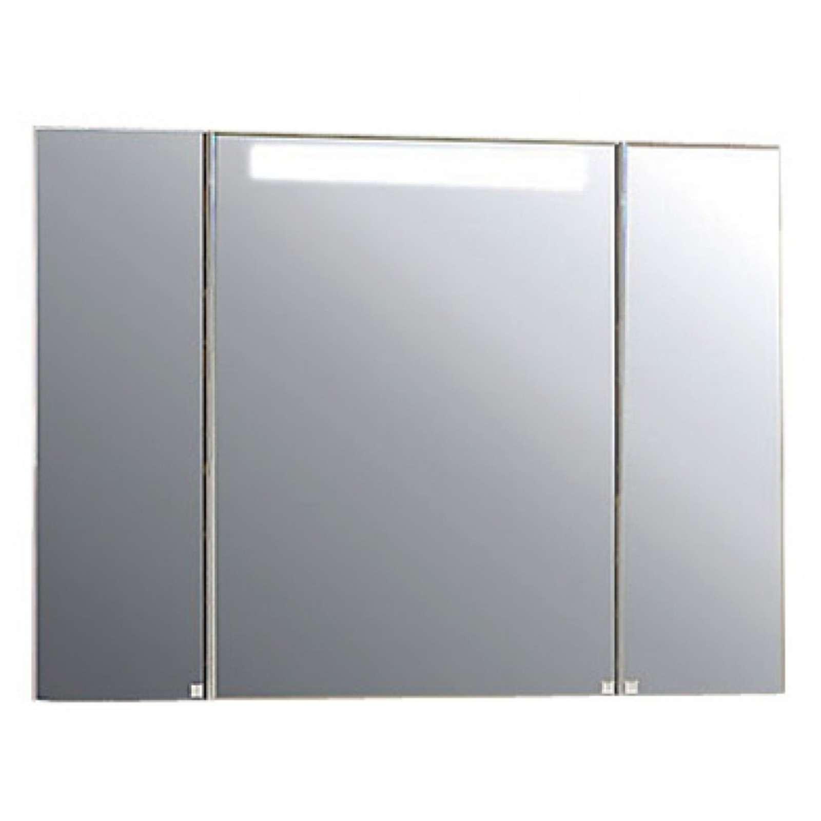 Зеркальный-шкаф Акватон Мадрид 100 со светильником (1A111602MA010)