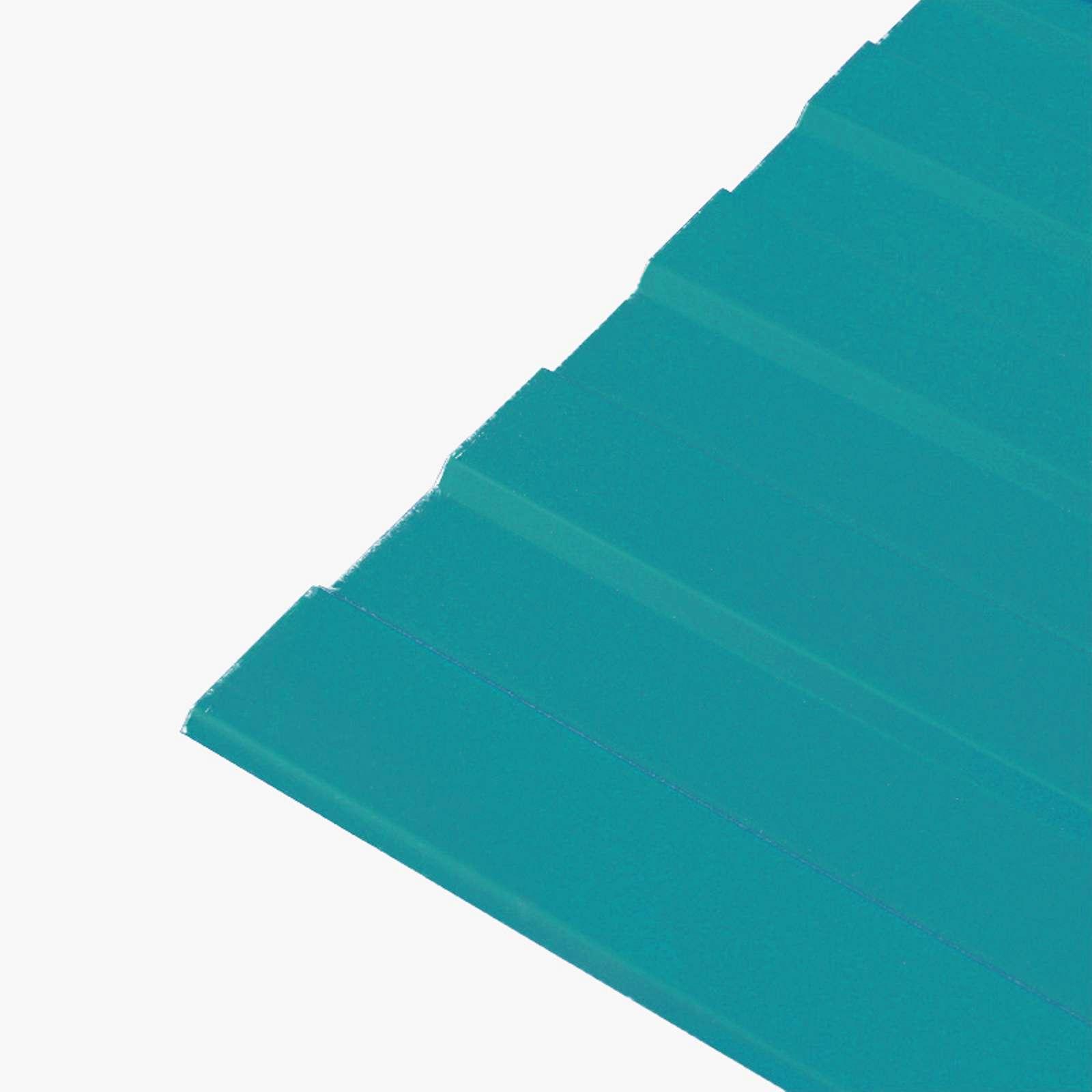 Профнастил С-8 1200х2000 (ПЭ-5021-0,45 мм) Морская волна