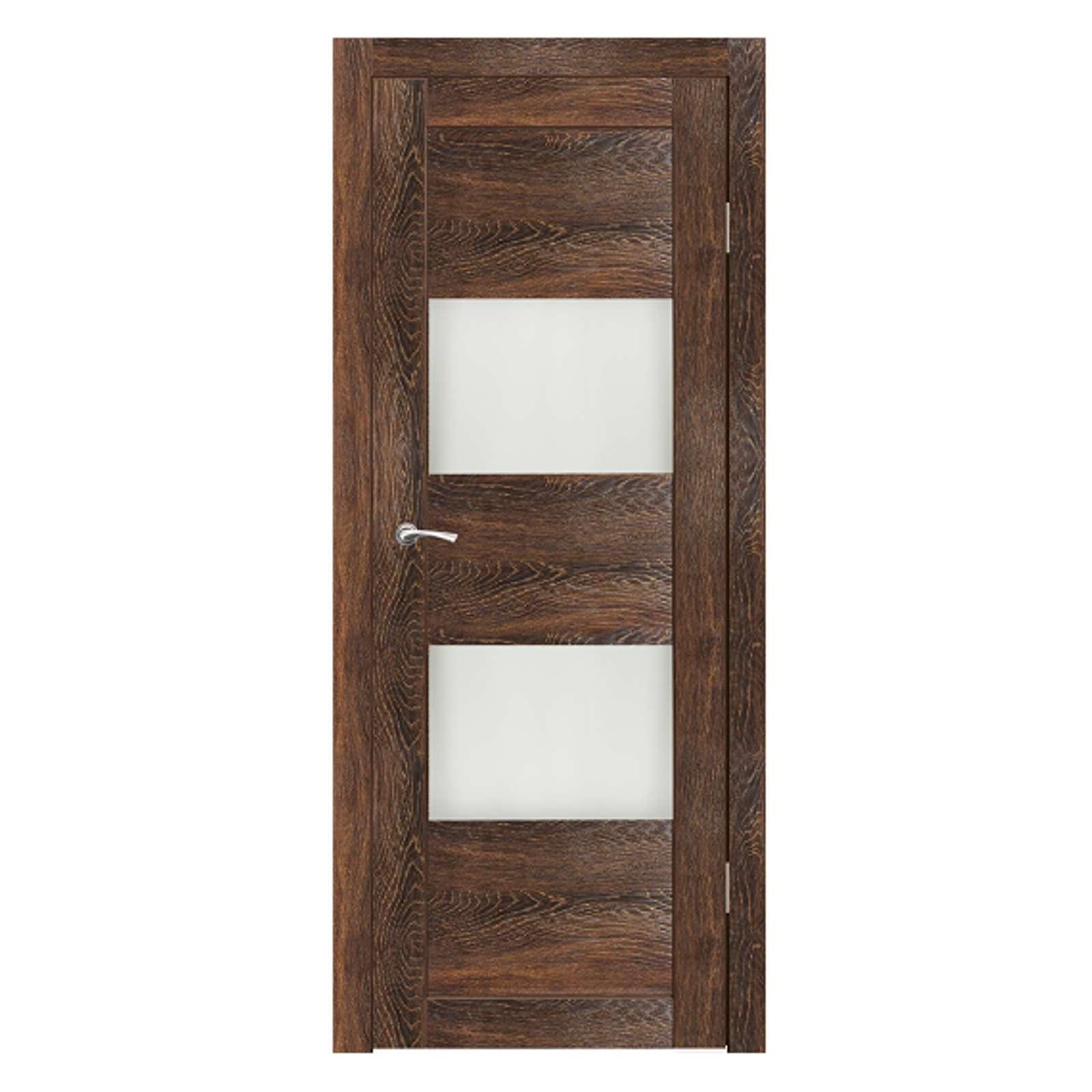 Дверное полотно Синержи Форте, Виски, ПДО 600Х2000ММ