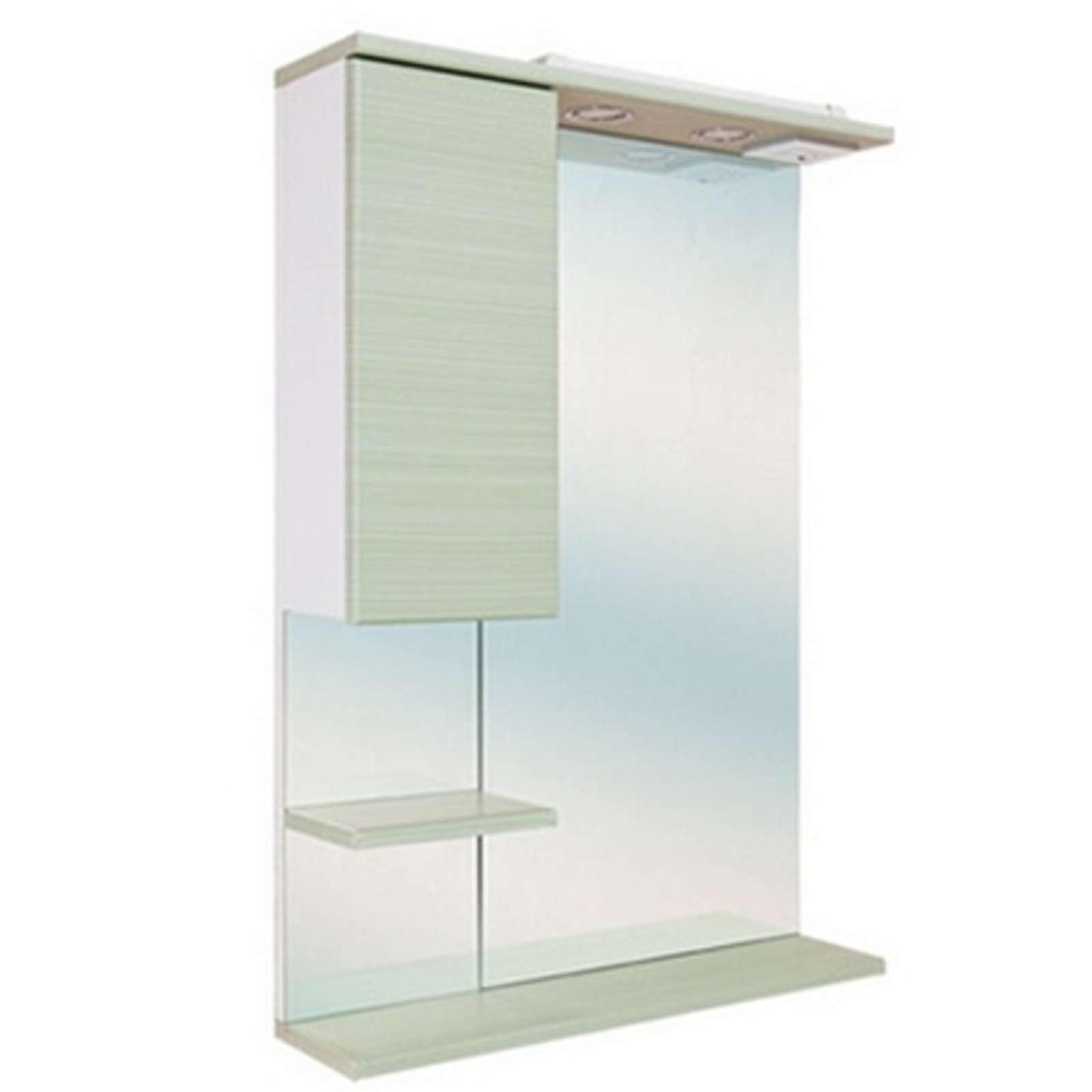 Зеркальный шкаф Onika Элита 60 Олива левый (206021)