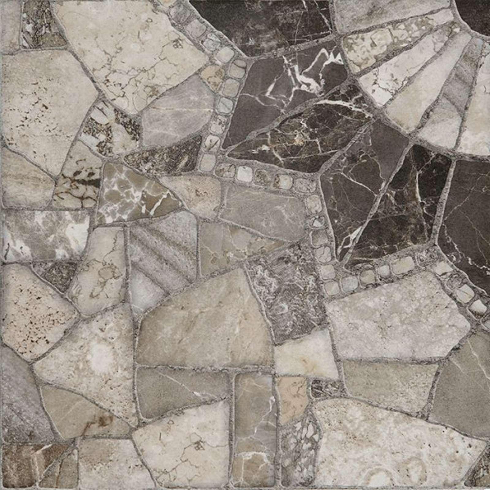 Керамогранит Тициан 400х400х9мм серый 02, Unitile