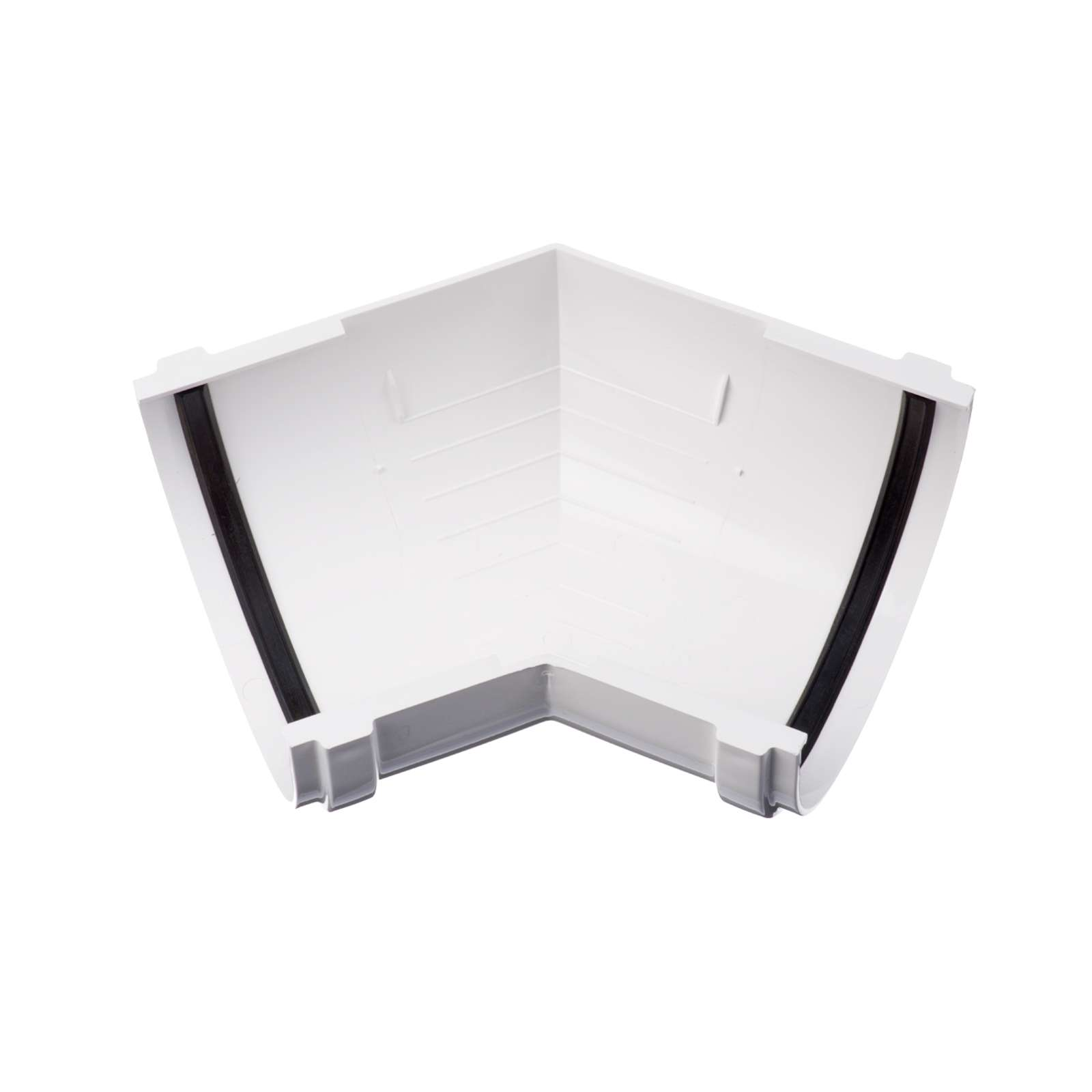 Угловой элемент желоба Docke Standart 135° Пломбир