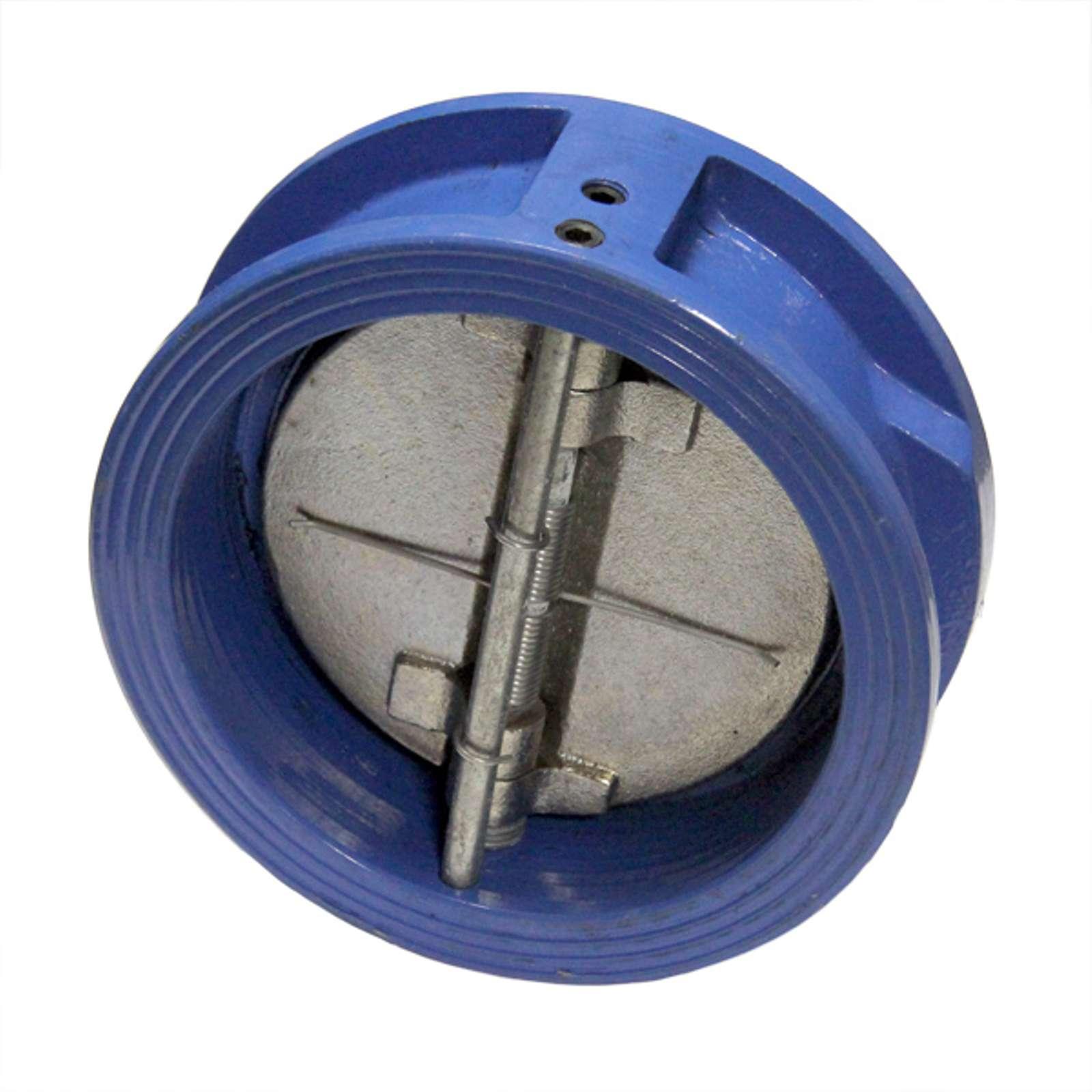 Клапан обратный межфланцевый двухстворчатый Ду 100 Ру16