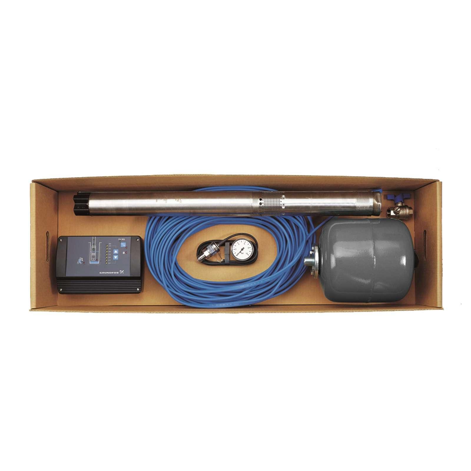 Скважинный насос Grundfos SQE 2-55 комплект (96524505)
