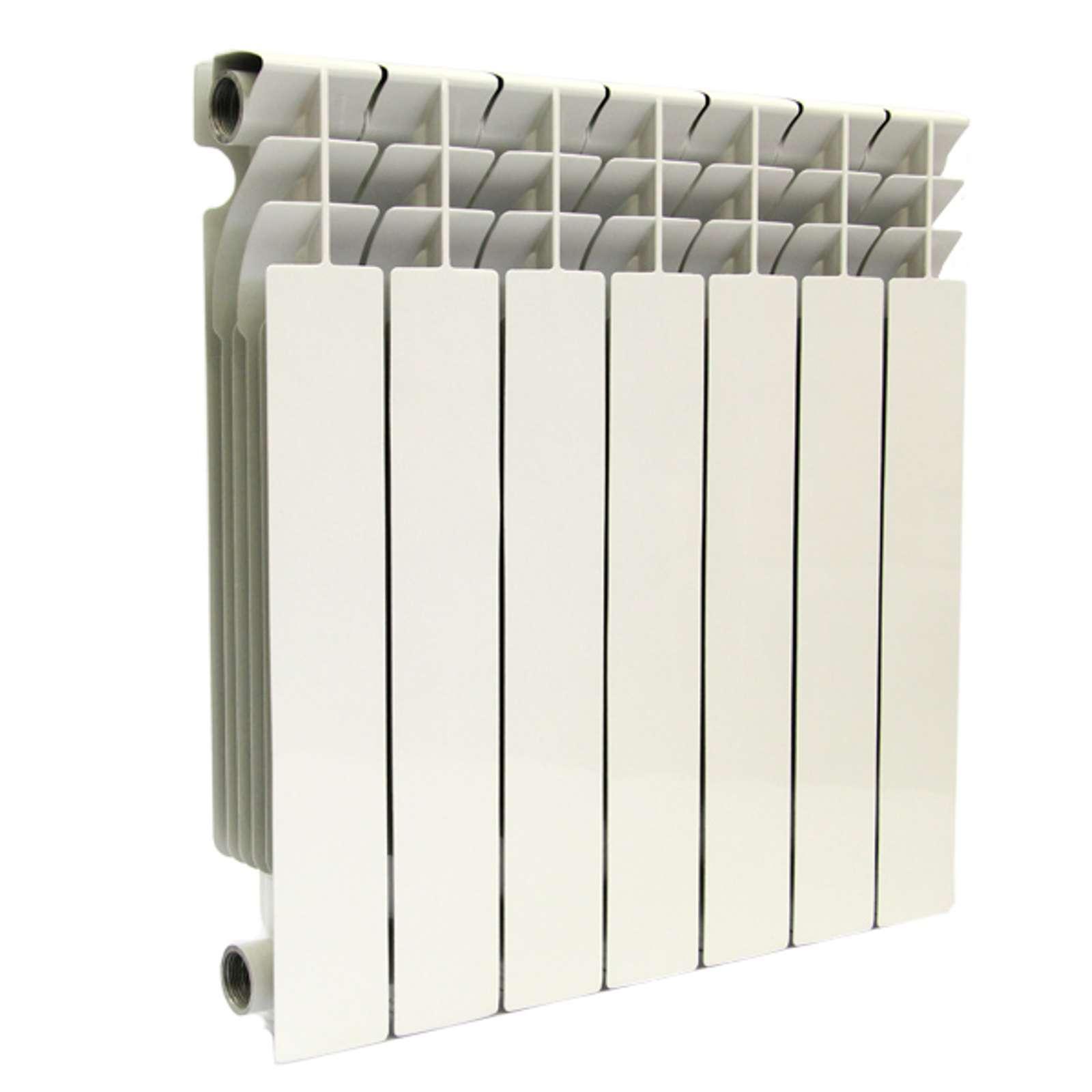 Радиатор бимет. LONTEK 500-10 (глубина 80 мм)