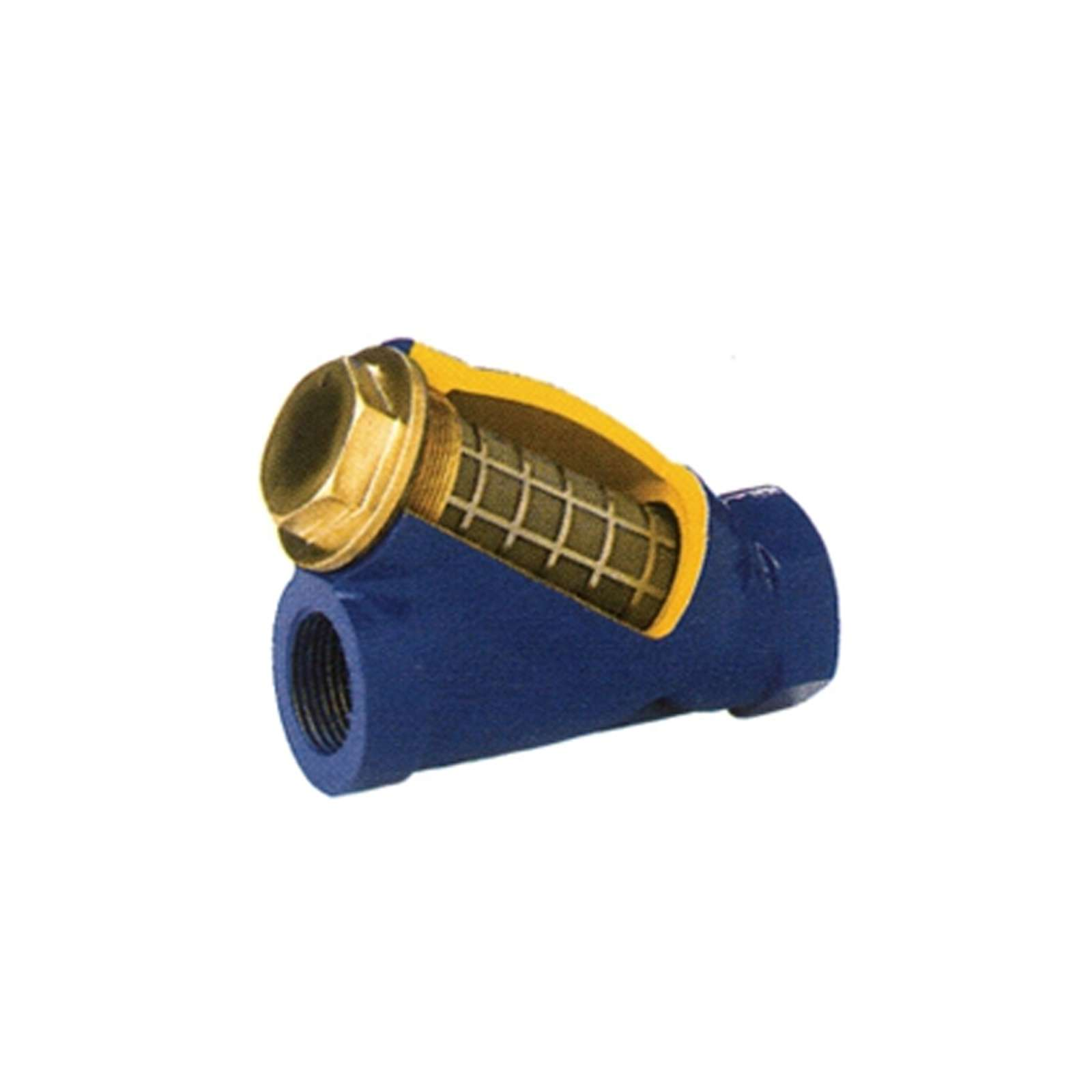 Фильтр муфтовый чугунный сетчатый V823 Ду15 PN10 BROEN