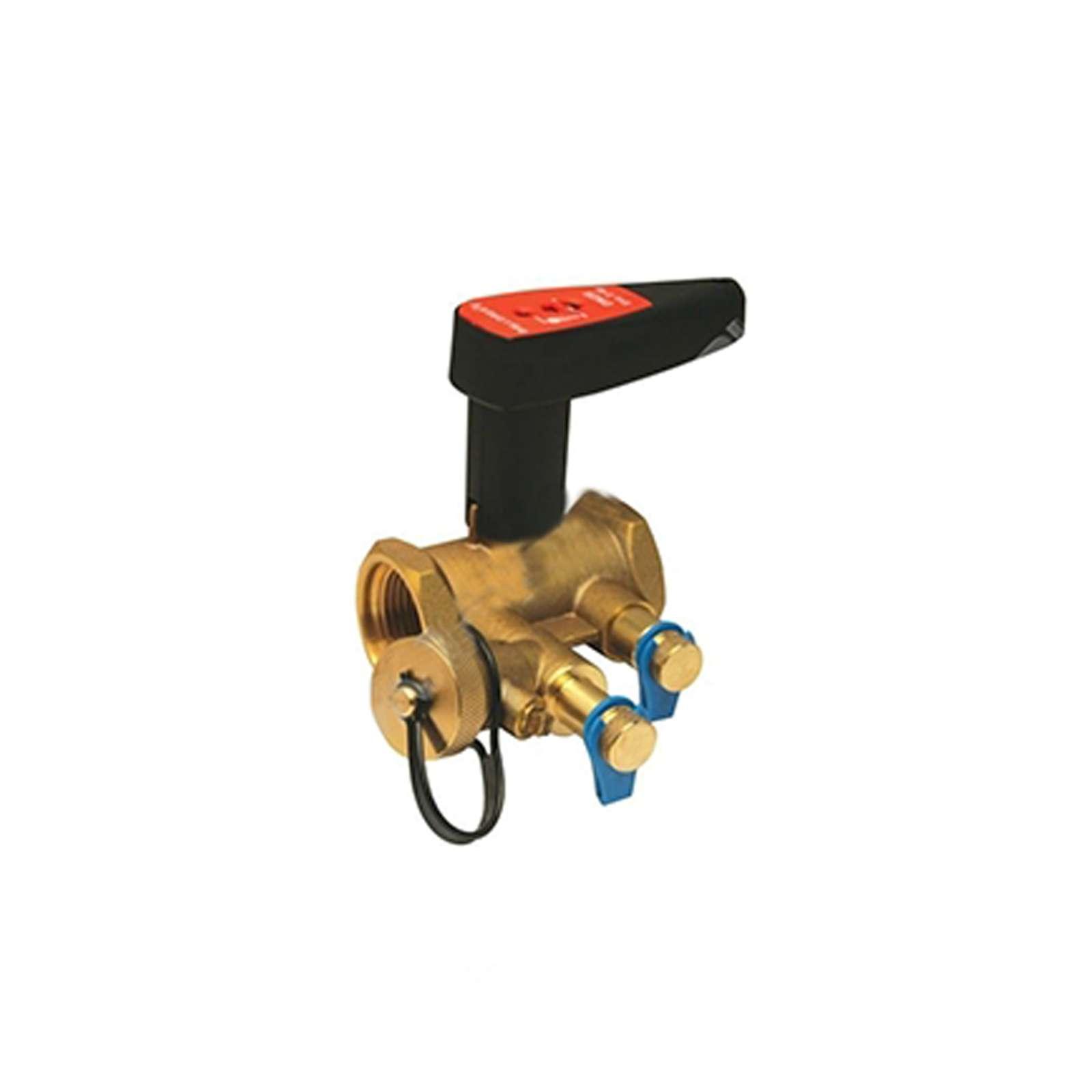 Клапан балансировочный BALLOREX V с ниппелями и дренажем Р/Р ДУ40, 4751000S-001673