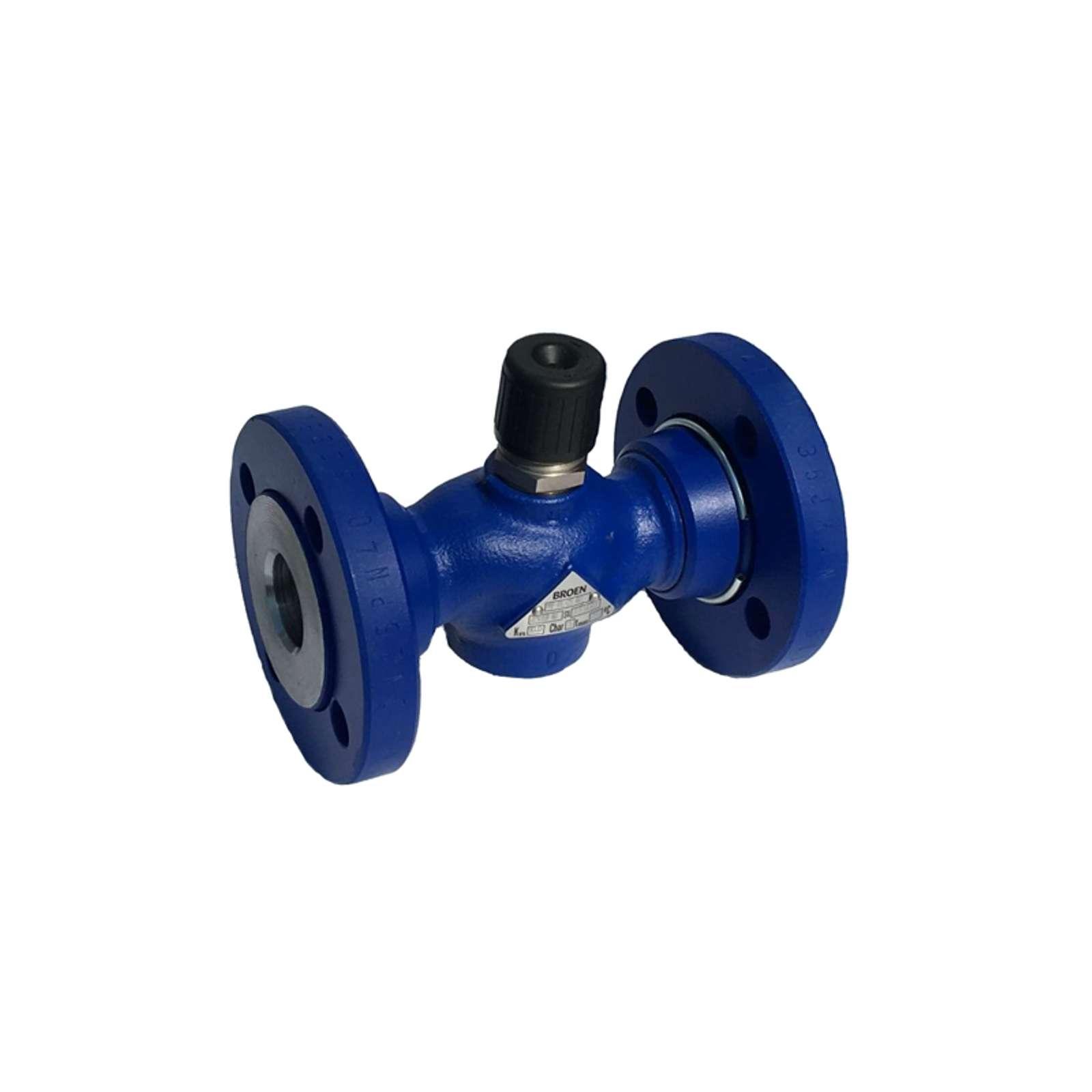 Клапан регулирующий чугунный ф/ф Ду32 Ру16 M1F-FL Clorius