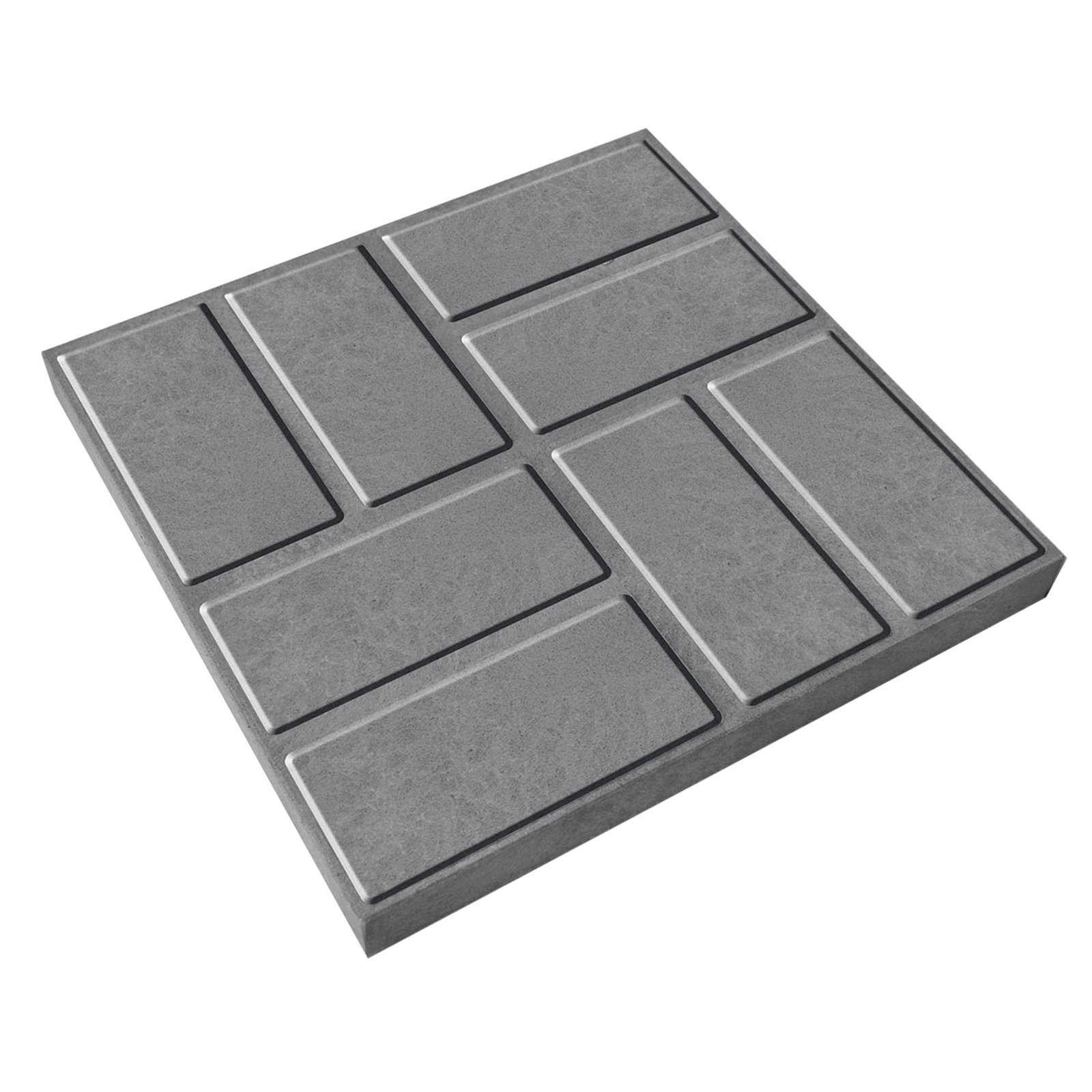 Плитка тротуарная полимерпесчаная 330х330х20 мм серая